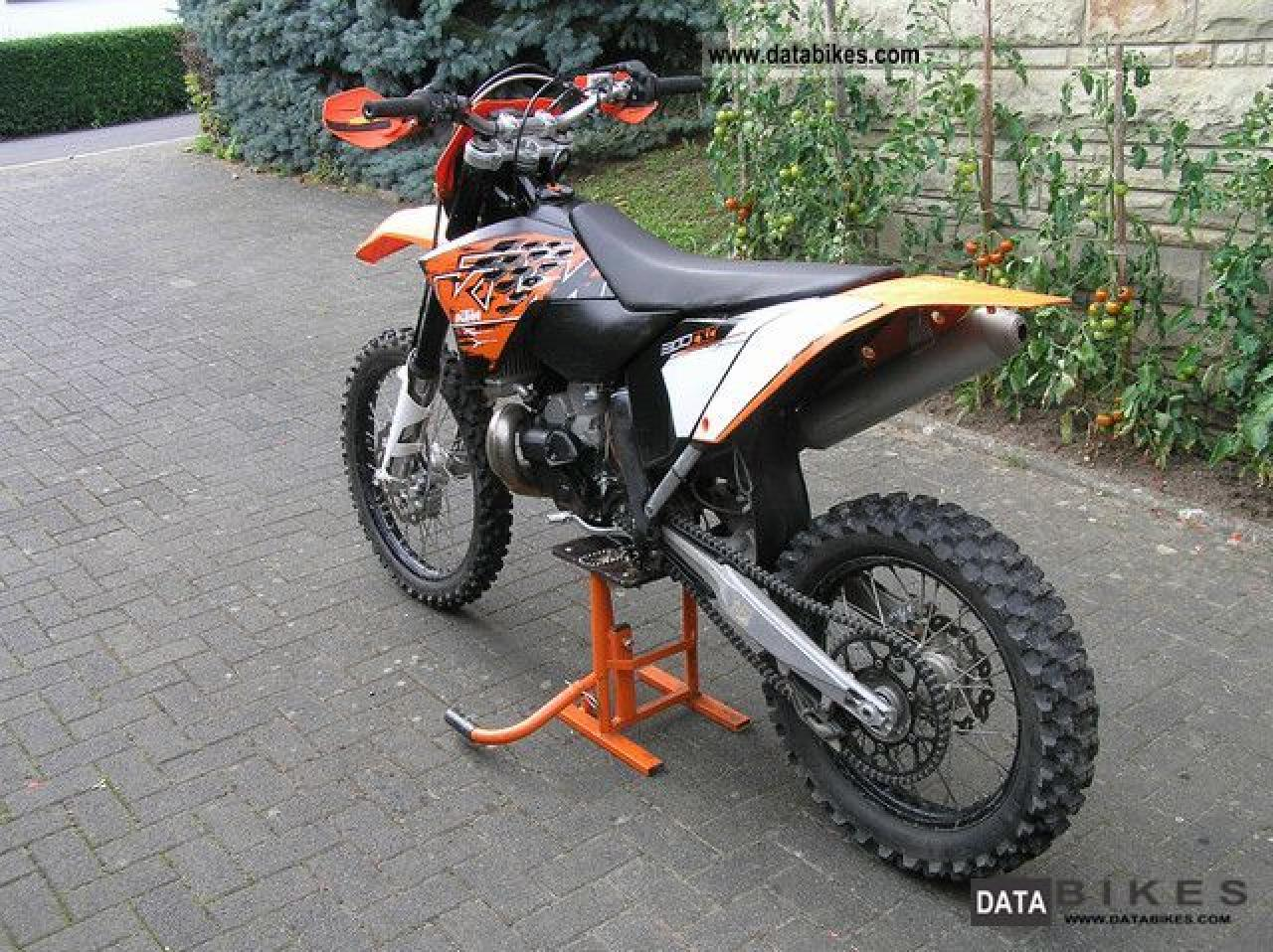 2007 ktm 300 exc moto zombdrive com. Black Bedroom Furniture Sets. Home Design Ideas
