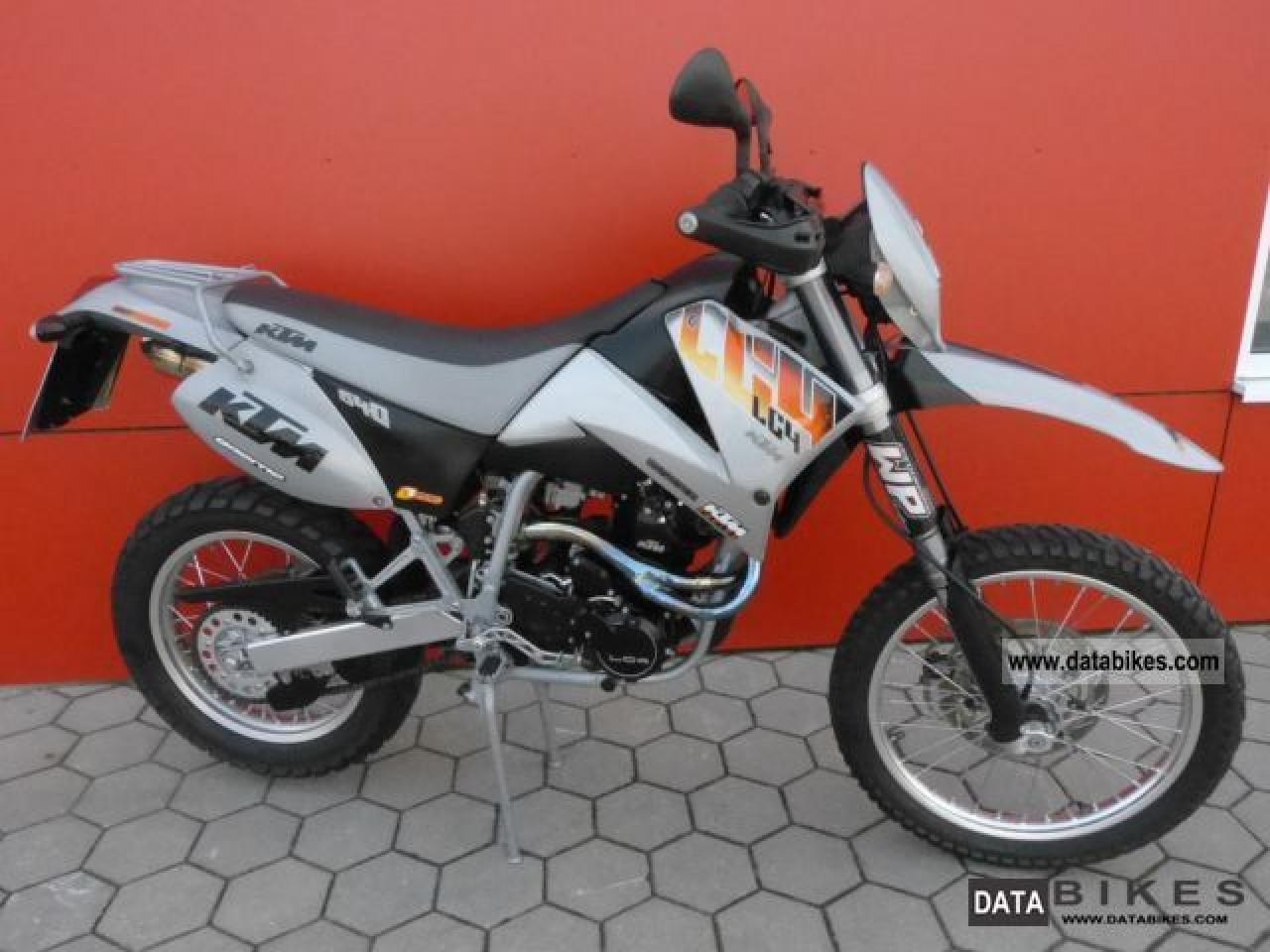 2001 ktm lc4 e 640 enduro moto zombdrive com. Black Bedroom Furniture Sets. Home Design Ideas