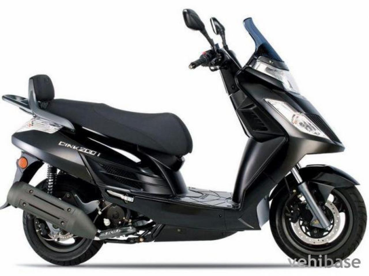2007 kymco dink yager 125 moto zombdrive com. Black Bedroom Furniture Sets. Home Design Ideas