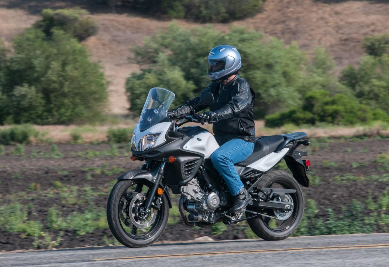 Suzuki V Strom Top Speed