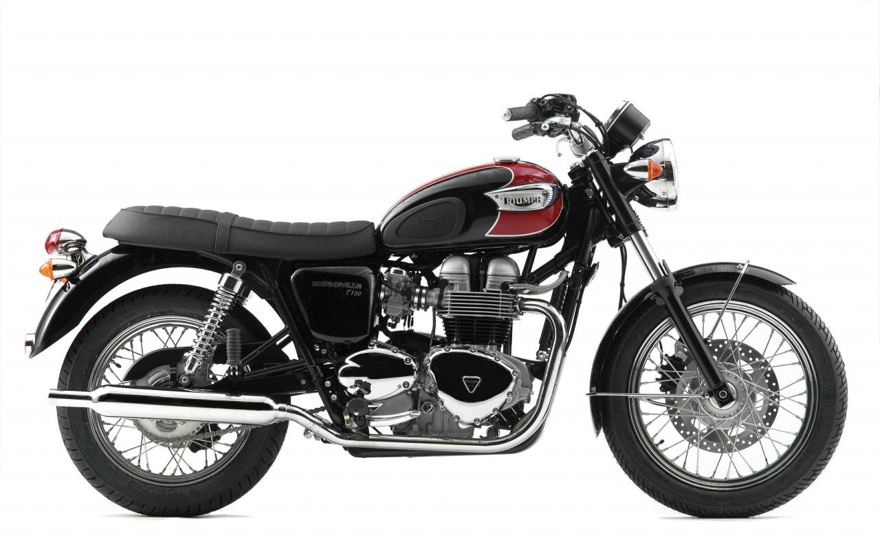 2007 triumph bonneville t100 moto zombdrive com. Black Bedroom Furniture Sets. Home Design Ideas