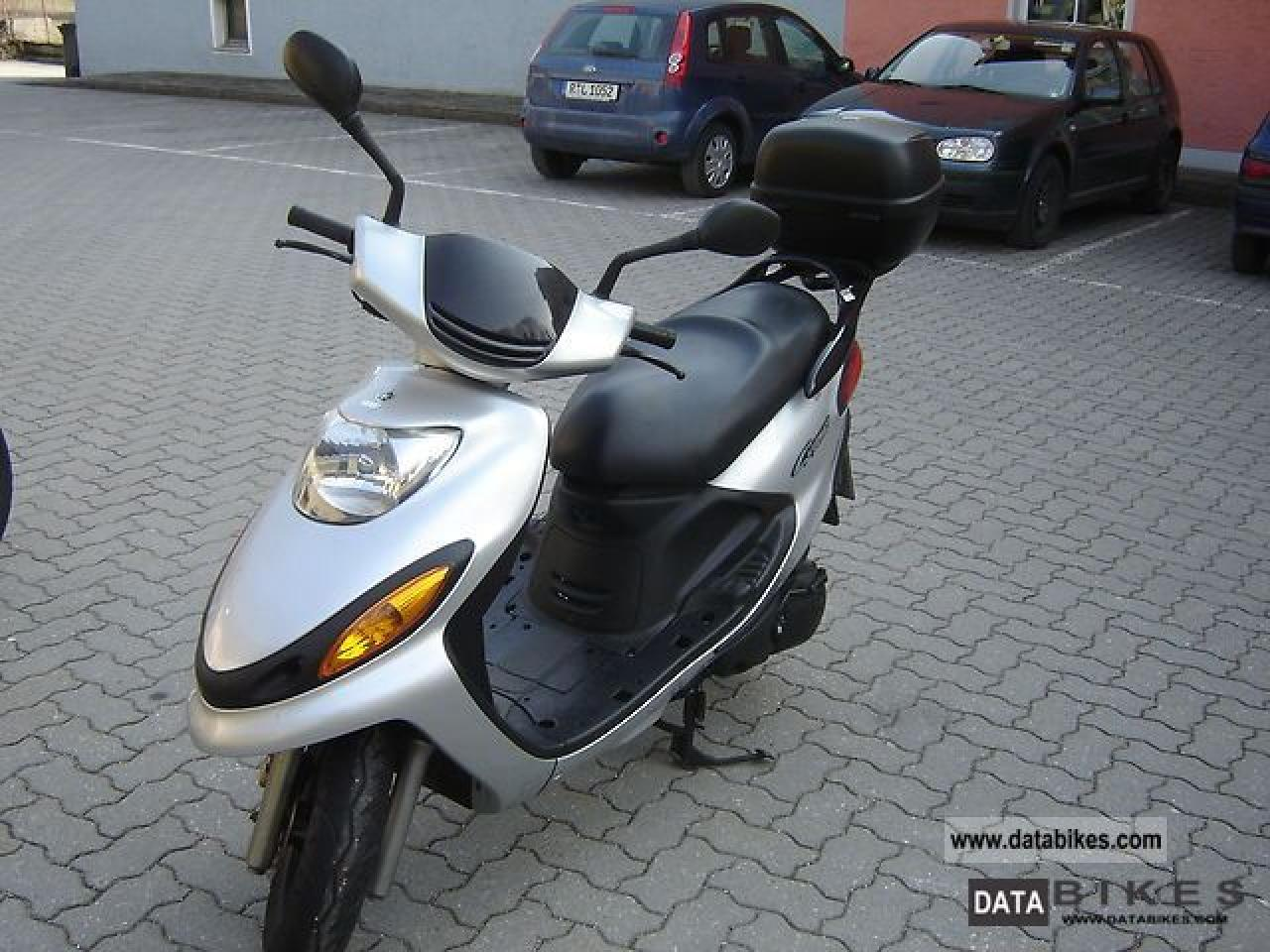 Review of Yamaha XC 125 TR Cygnus R 1997: pictures, live