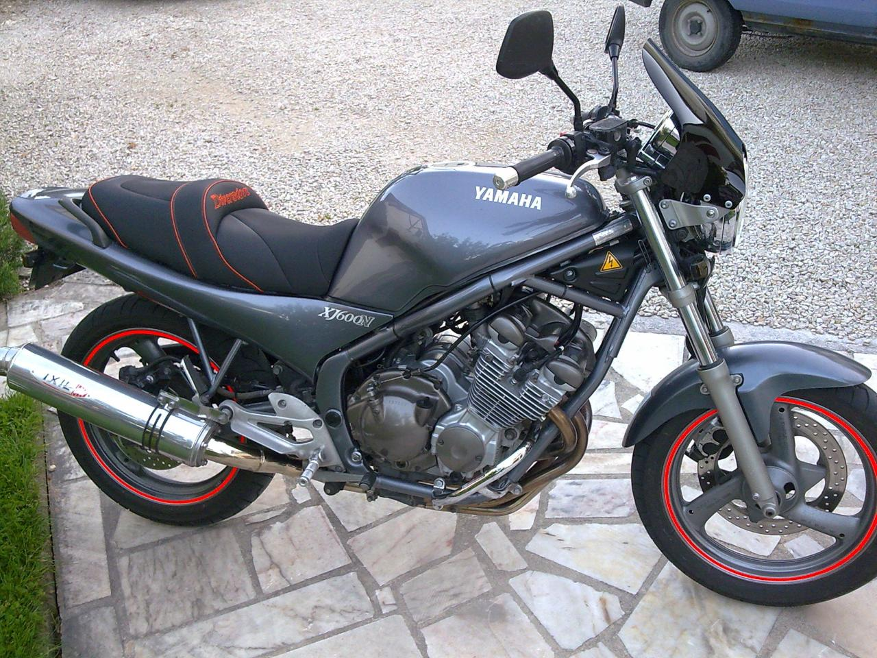 1996 Yamaha XJ 600 N specifications and pictures