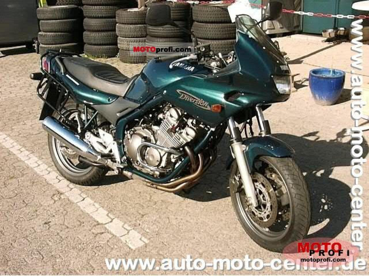 2003 yamaha xj 600 n diversion moto zombdrive com. Black Bedroom Furniture Sets. Home Design Ideas