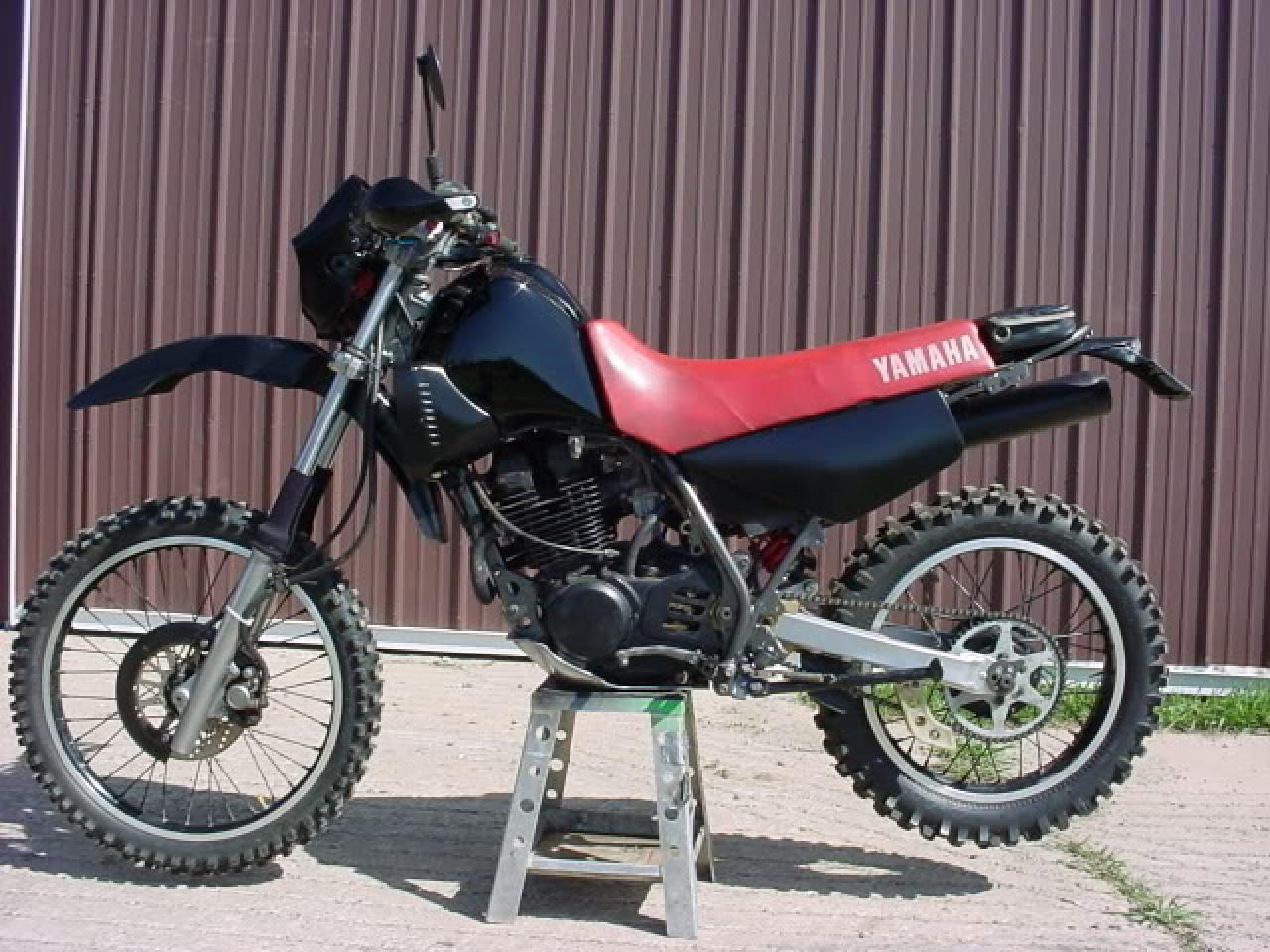 1990 yamaha xt 350 reduced effect moto zombdrive com. Black Bedroom Furniture Sets. Home Design Ideas