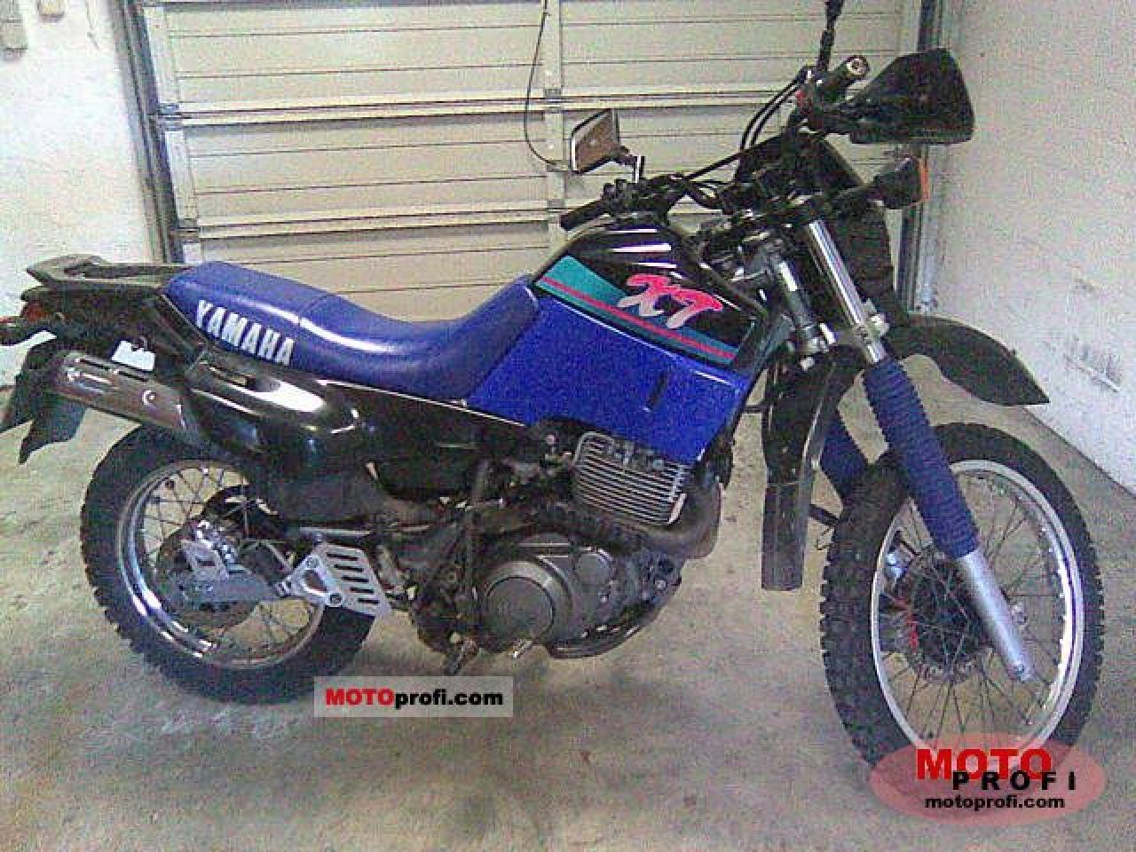 1993 yamaha xt 600 moto zombdrive com. Black Bedroom Furniture Sets. Home Design Ideas
