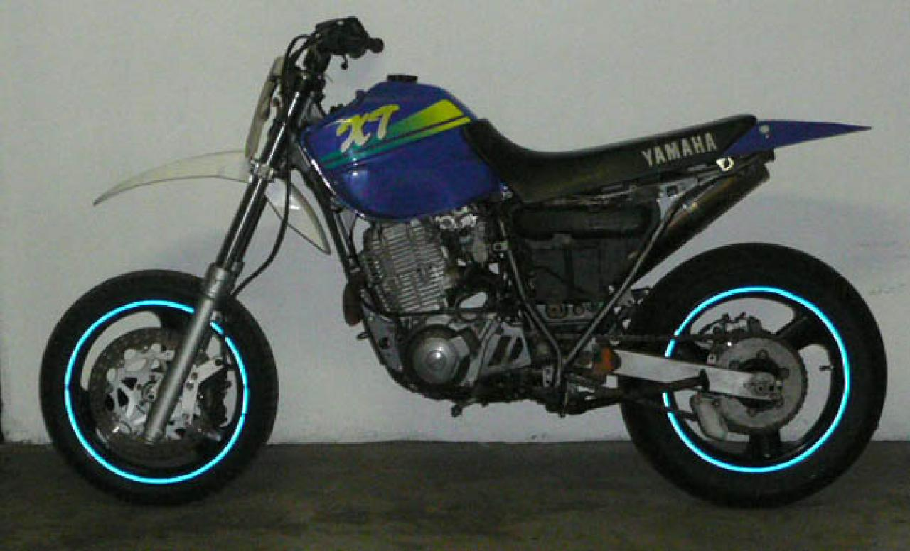 Yamaha Xt E Reduced Effect on 1990 yamaha xt 600
