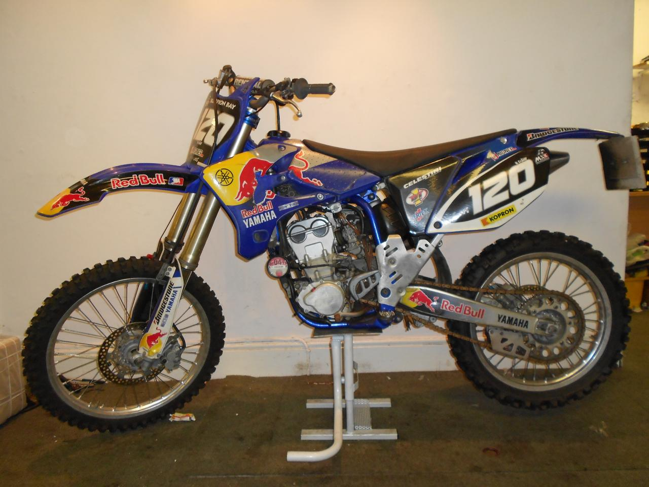 2005 yamaha yz 250 f moto zombdrive com. Black Bedroom Furniture Sets. Home Design Ideas