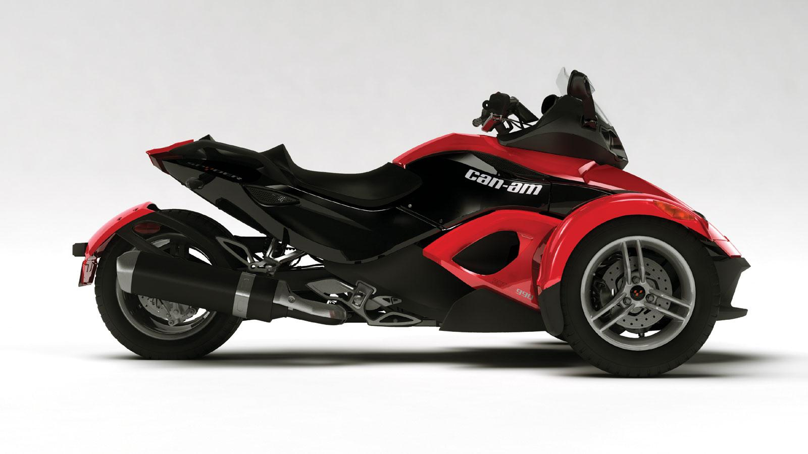 2008 can am spyder roadster gallery