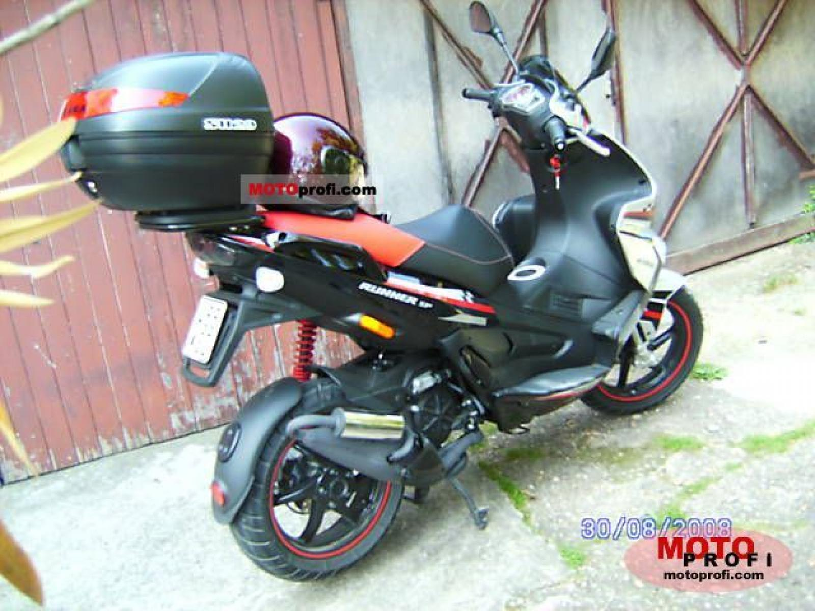 2008 gilera runner sp 50 moto zombdrive com. Black Bedroom Furniture Sets. Home Design Ideas