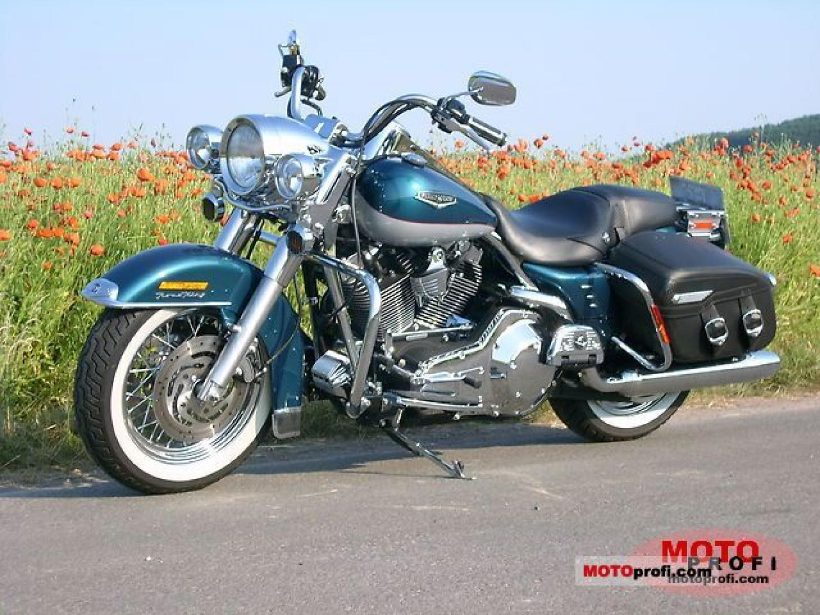 2005 harley davidson flhrci road king classic moto. Black Bedroom Furniture Sets. Home Design Ideas