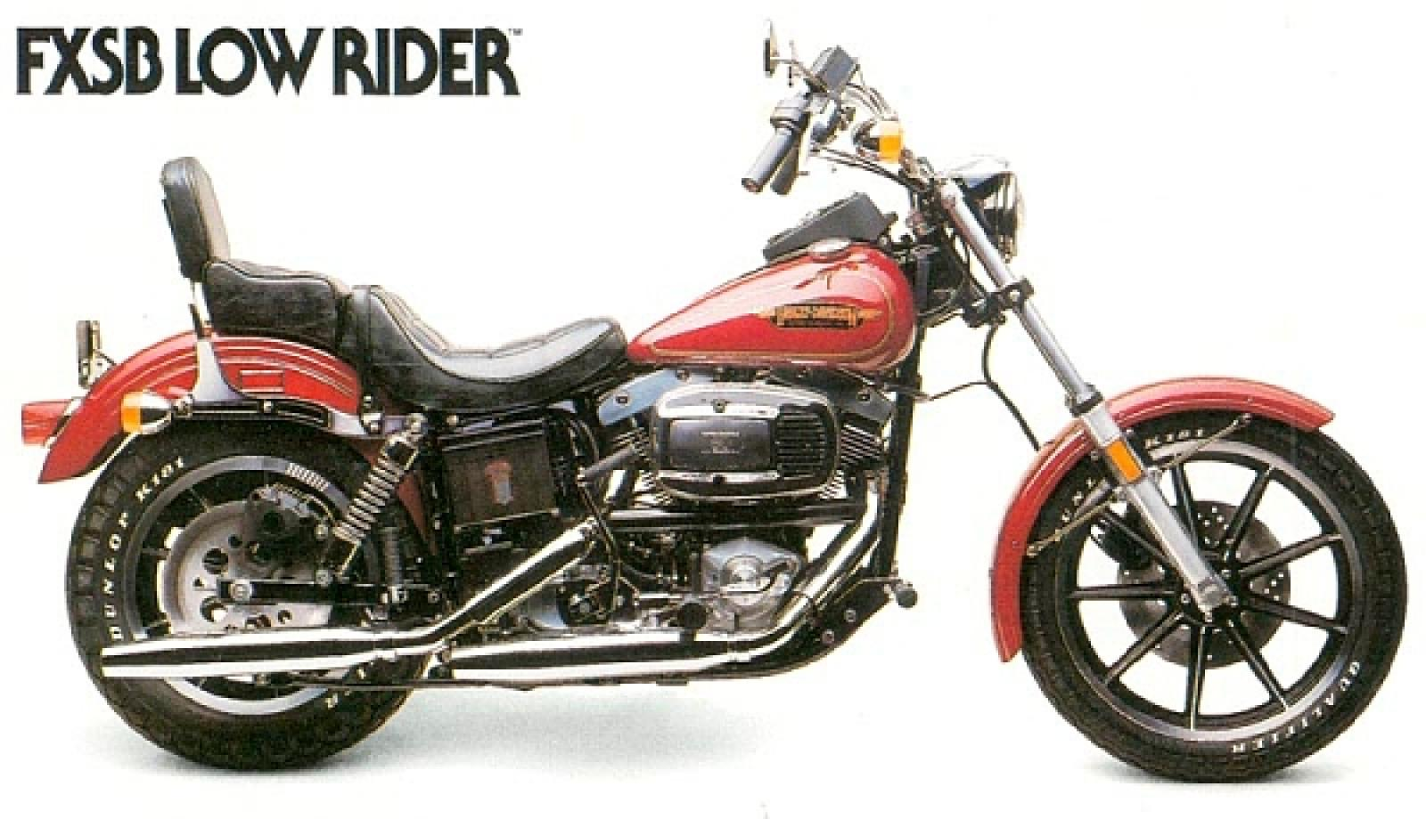 1990 Harley-Davidson FXRS 1340 SP Low Rider Special Edition - Moto