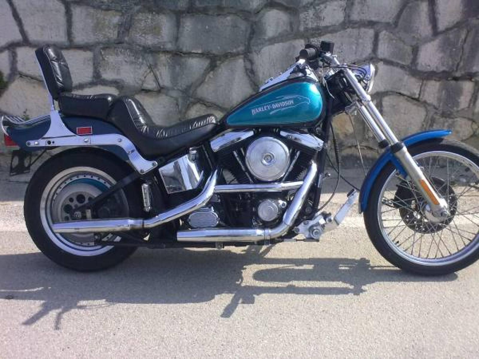 Harleydavidson Fxstc Softail Custom on harley fxstc
