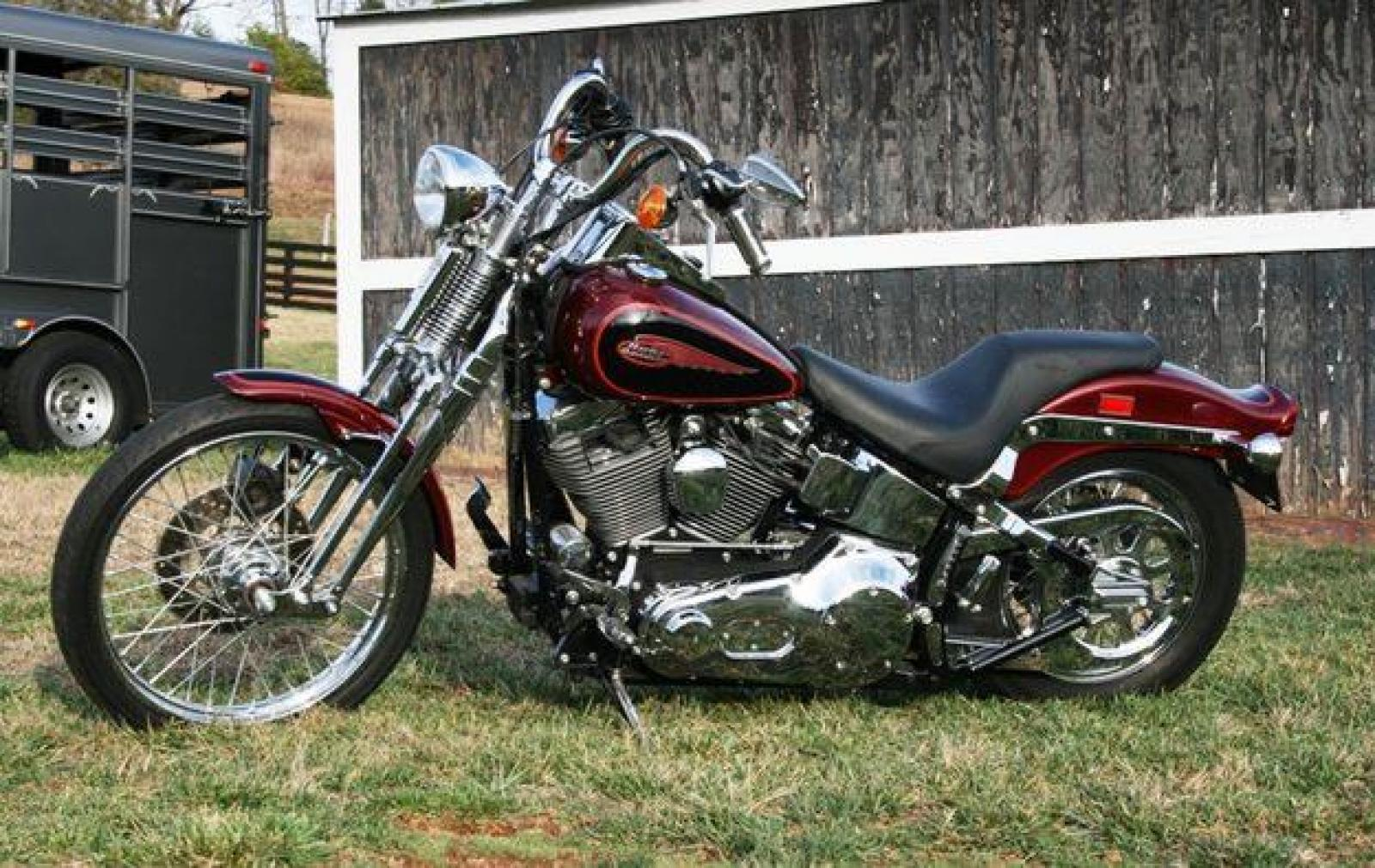 harleydavidson fxsts springer softail 7 1998 fxsts wire diagram 2003 harley fxst \u2022 wiring diagrams j  at gsmportal.co
