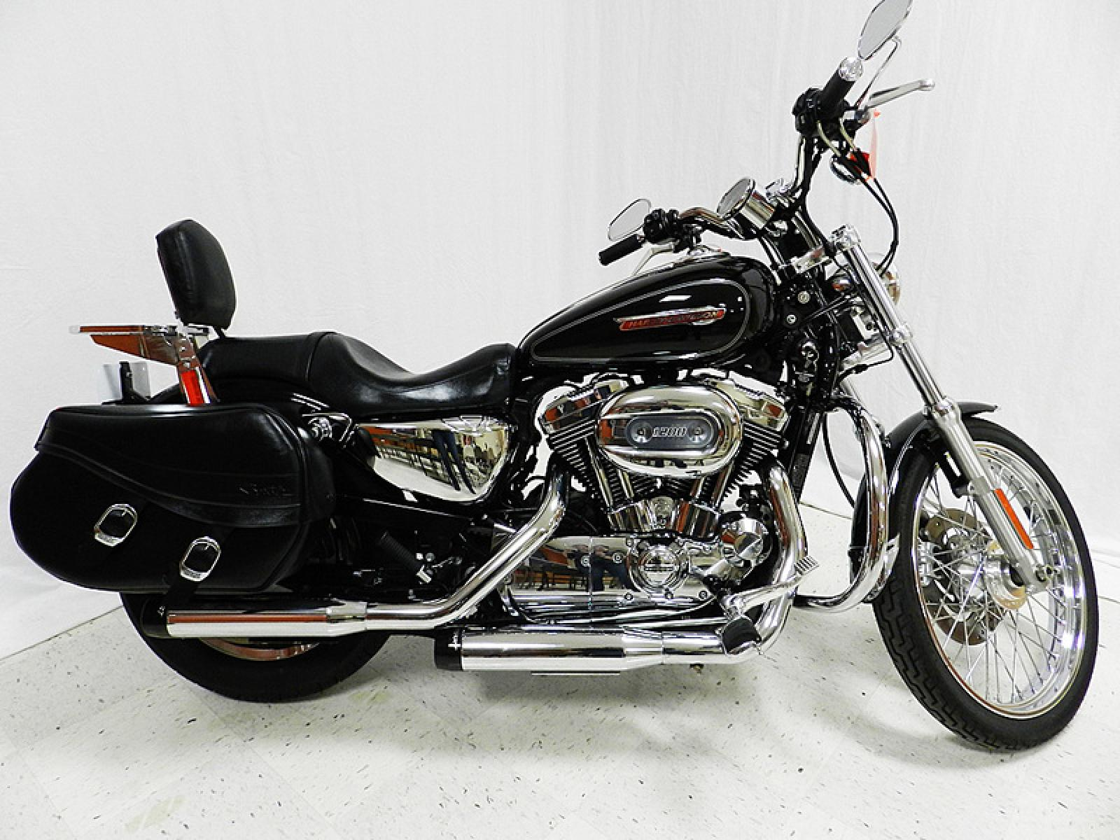 2008 harley davidson xl1200c sportster 1200 custom moto zombdrive com. Black Bedroom Furniture Sets. Home Design Ideas