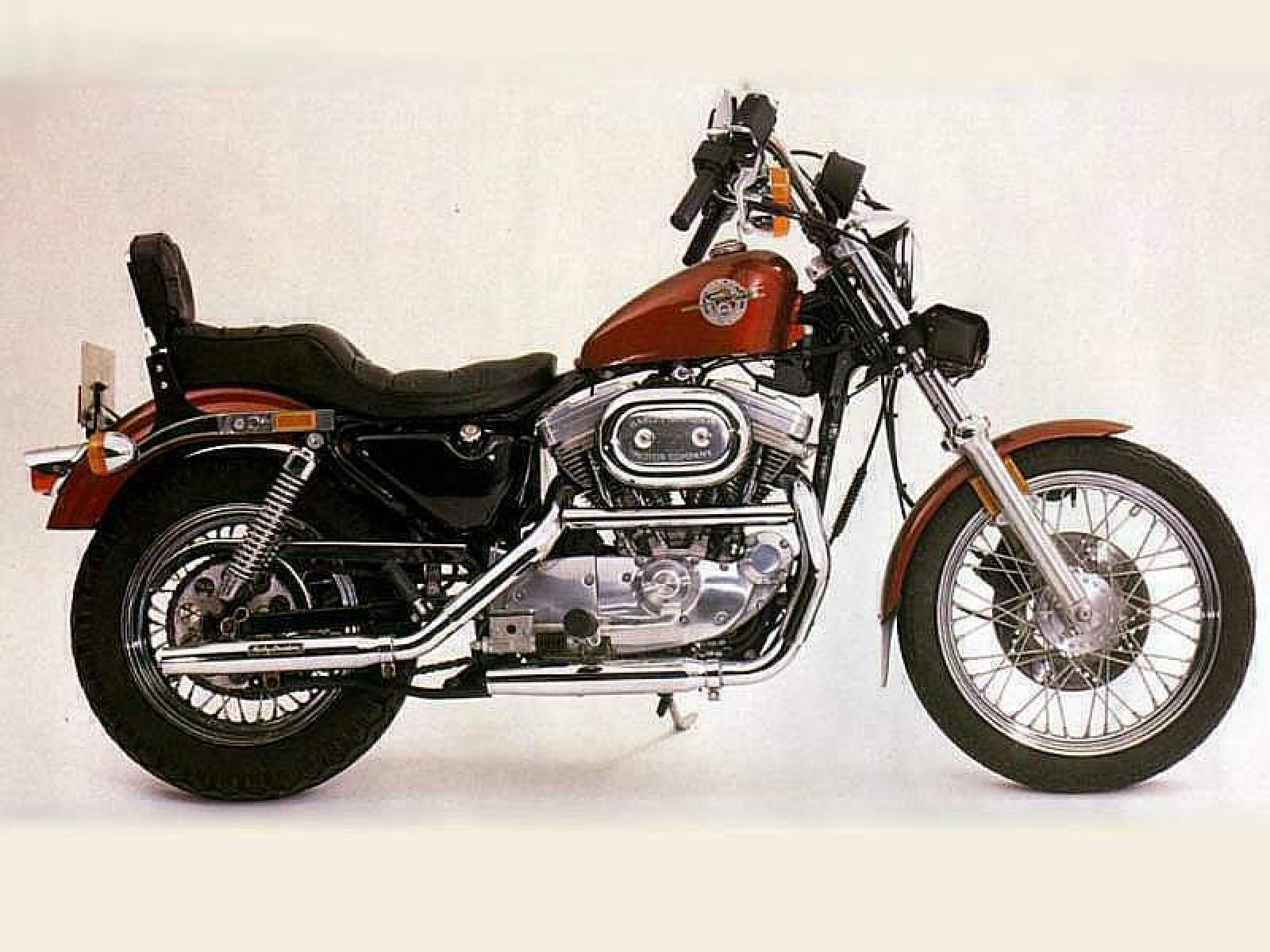 1990 harley davidson xlh sportster 883 standard moto. Black Bedroom Furniture Sets. Home Design Ideas