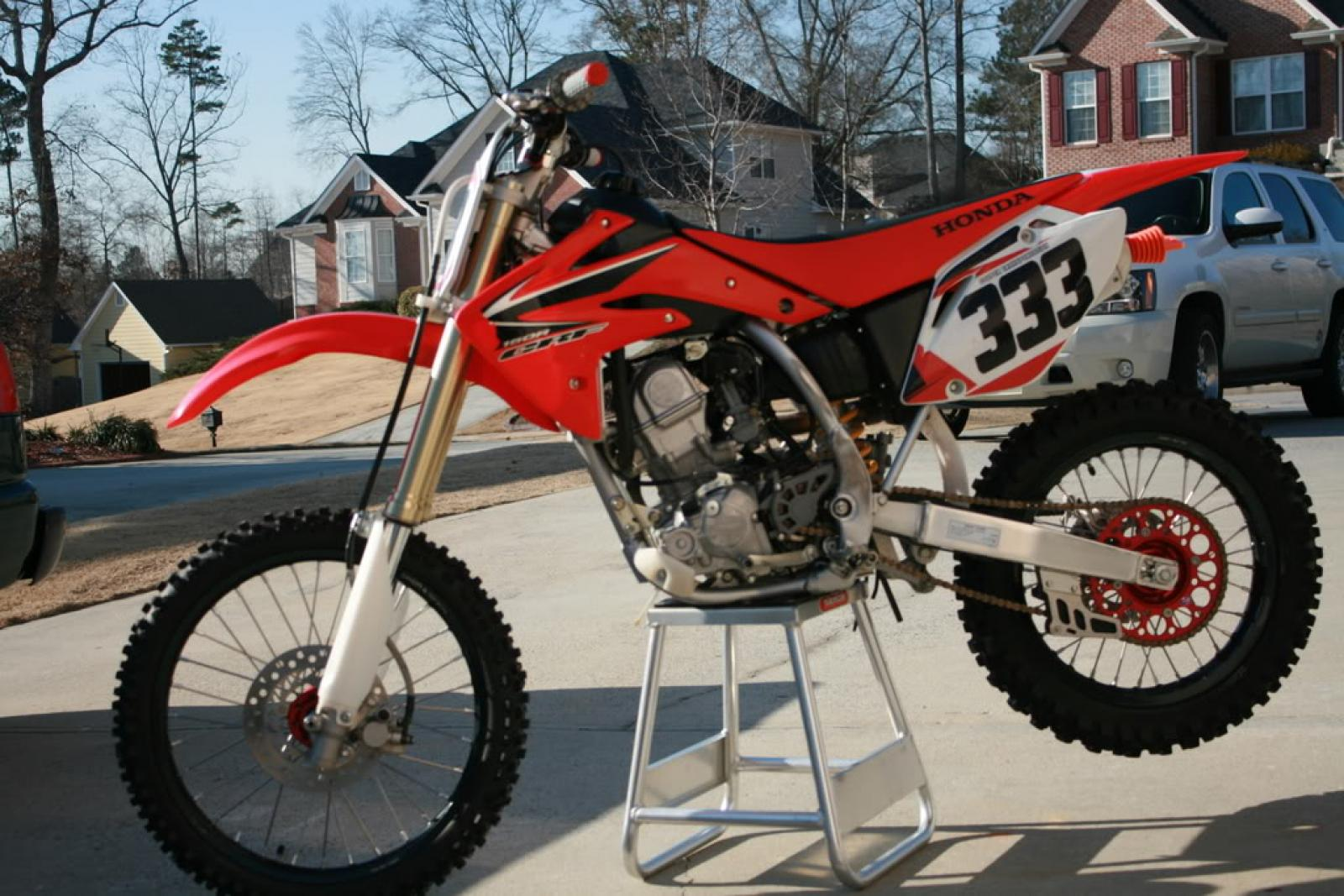 Fabulous 2008 Honda Crf150R Moto Zombdrive Com Squirreltailoven Fun Painted Chair Ideas Images Squirreltailovenorg
