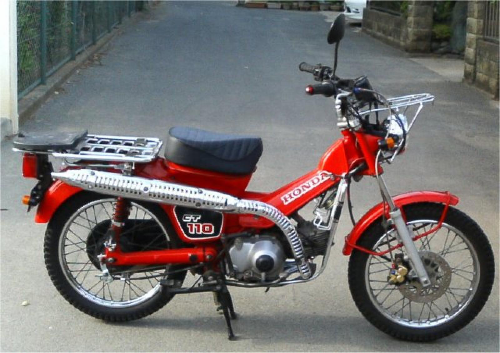 Honda honda ct110 moto zombdrive com for Honda in ct