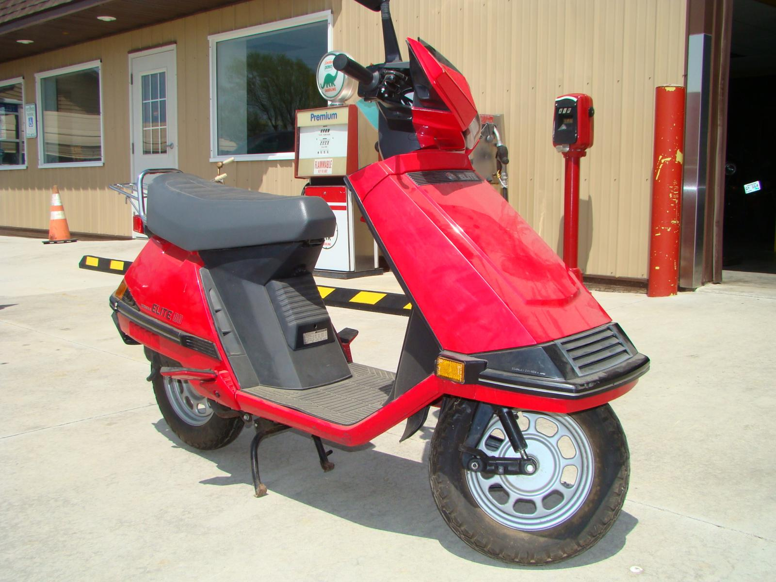 Honda Elite 80 gallery