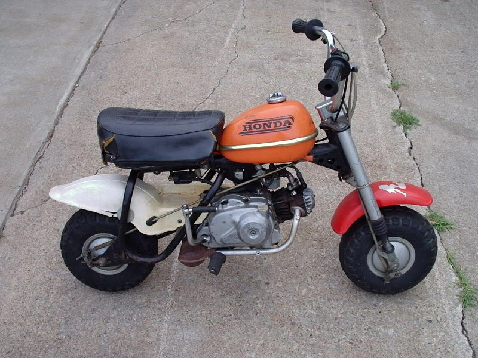 Mini Moto Honda 50 Ide Dimage De 1970 Trail Download Image 1600 X 1200