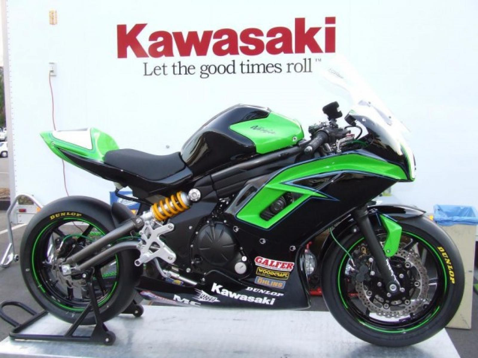 2013 kawasaki er 6f moto zombdrive com. Black Bedroom Furniture Sets. Home Design Ideas