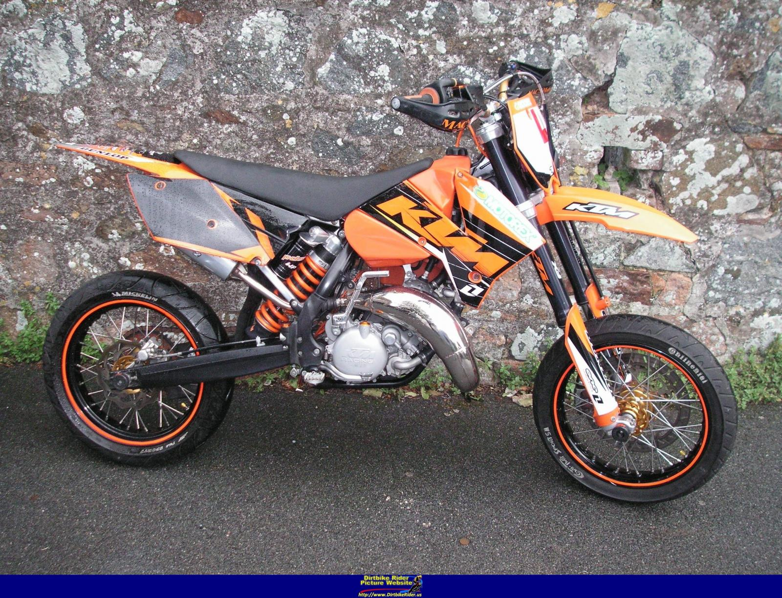 2007 ktm 125 exc moto zombdrive com. Black Bedroom Furniture Sets. Home Design Ideas