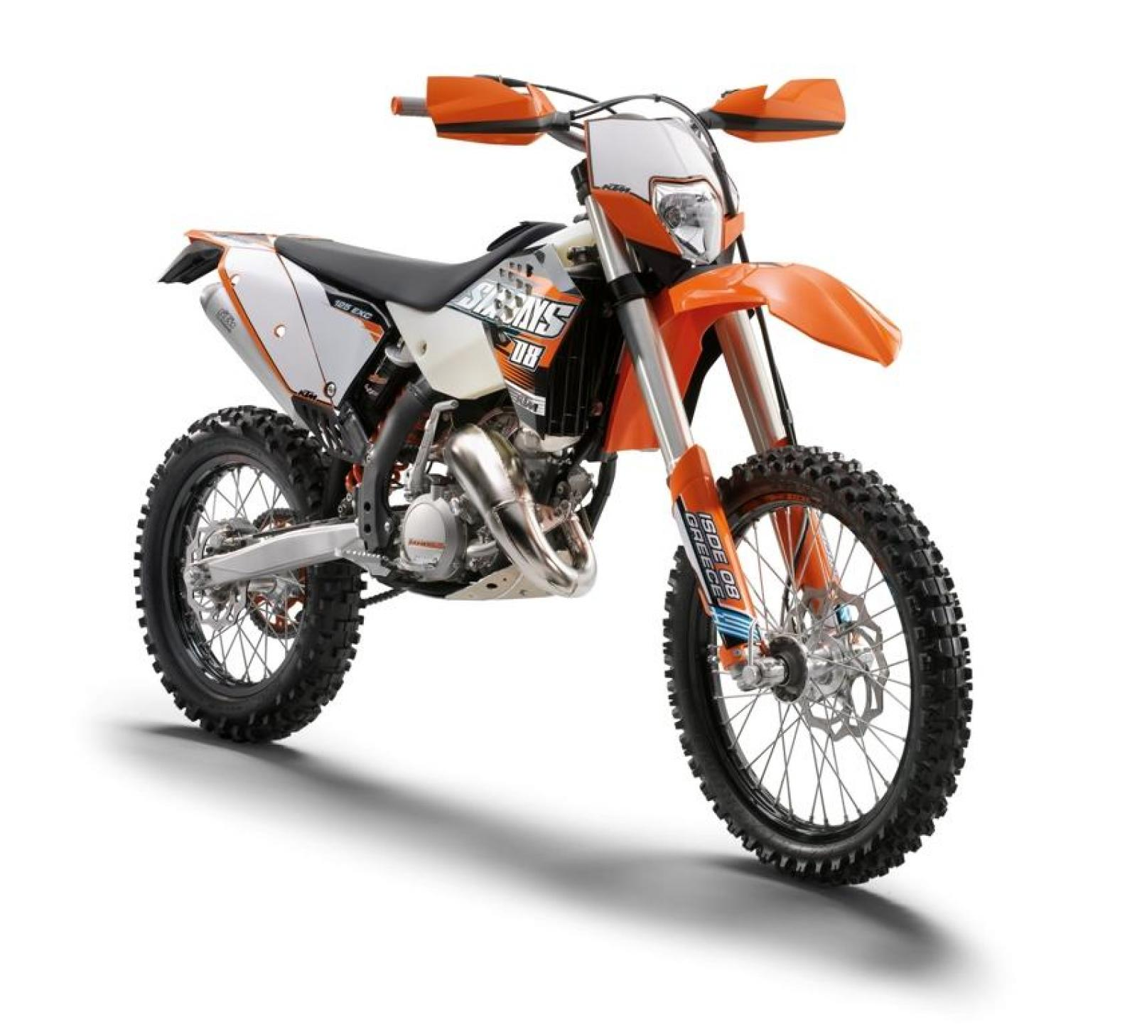 2009 ktm 125 exc six days moto zombdrive com. Black Bedroom Furniture Sets. Home Design Ideas