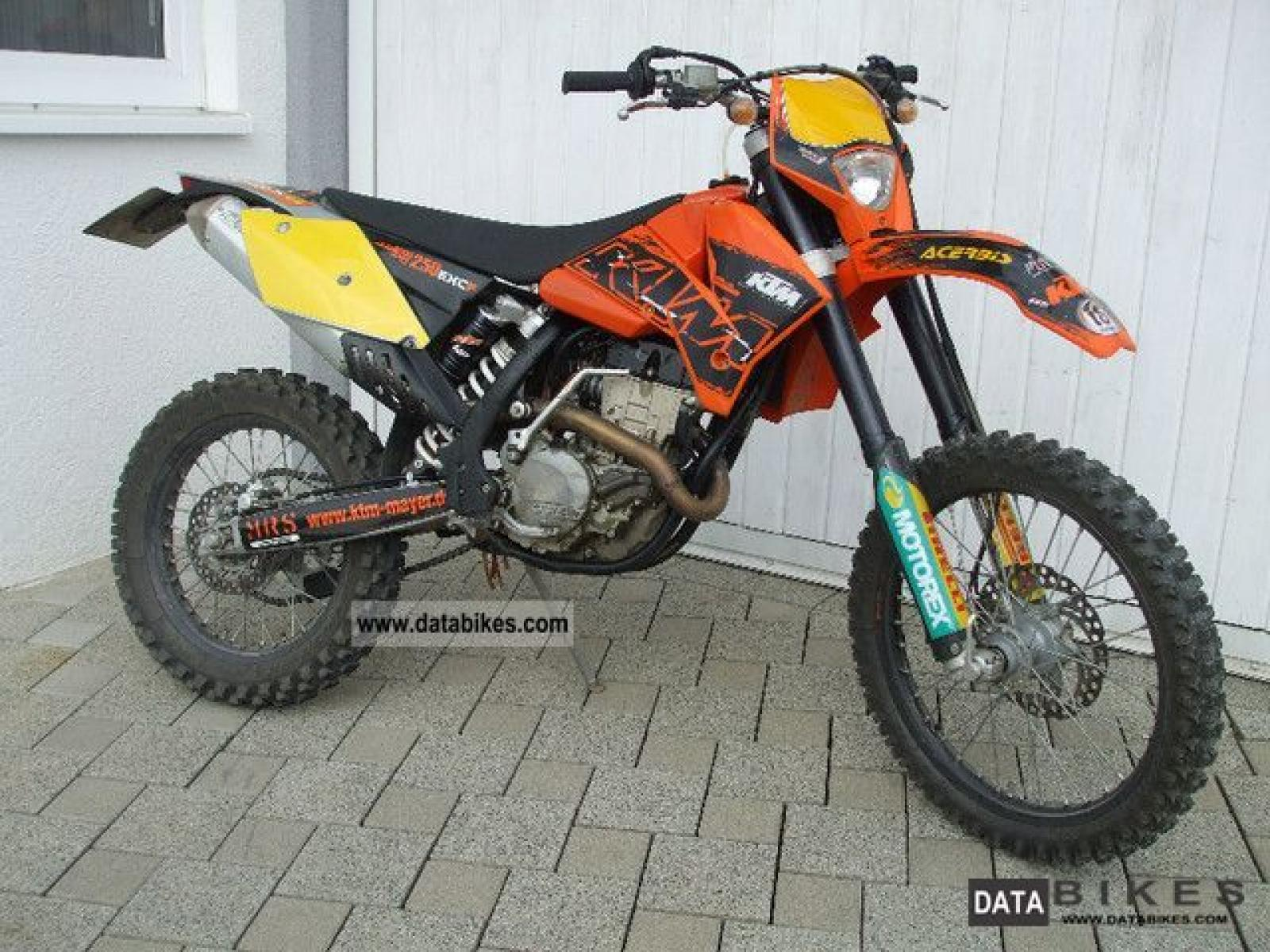 2006 ktm 400 exc racing moto zombdrive com. Black Bedroom Furniture Sets. Home Design Ideas