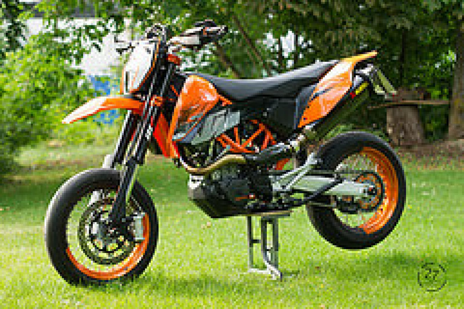 ktm ktm 640 lc4 smc orange moto zombdrive com. Black Bedroom Furniture Sets. Home Design Ideas