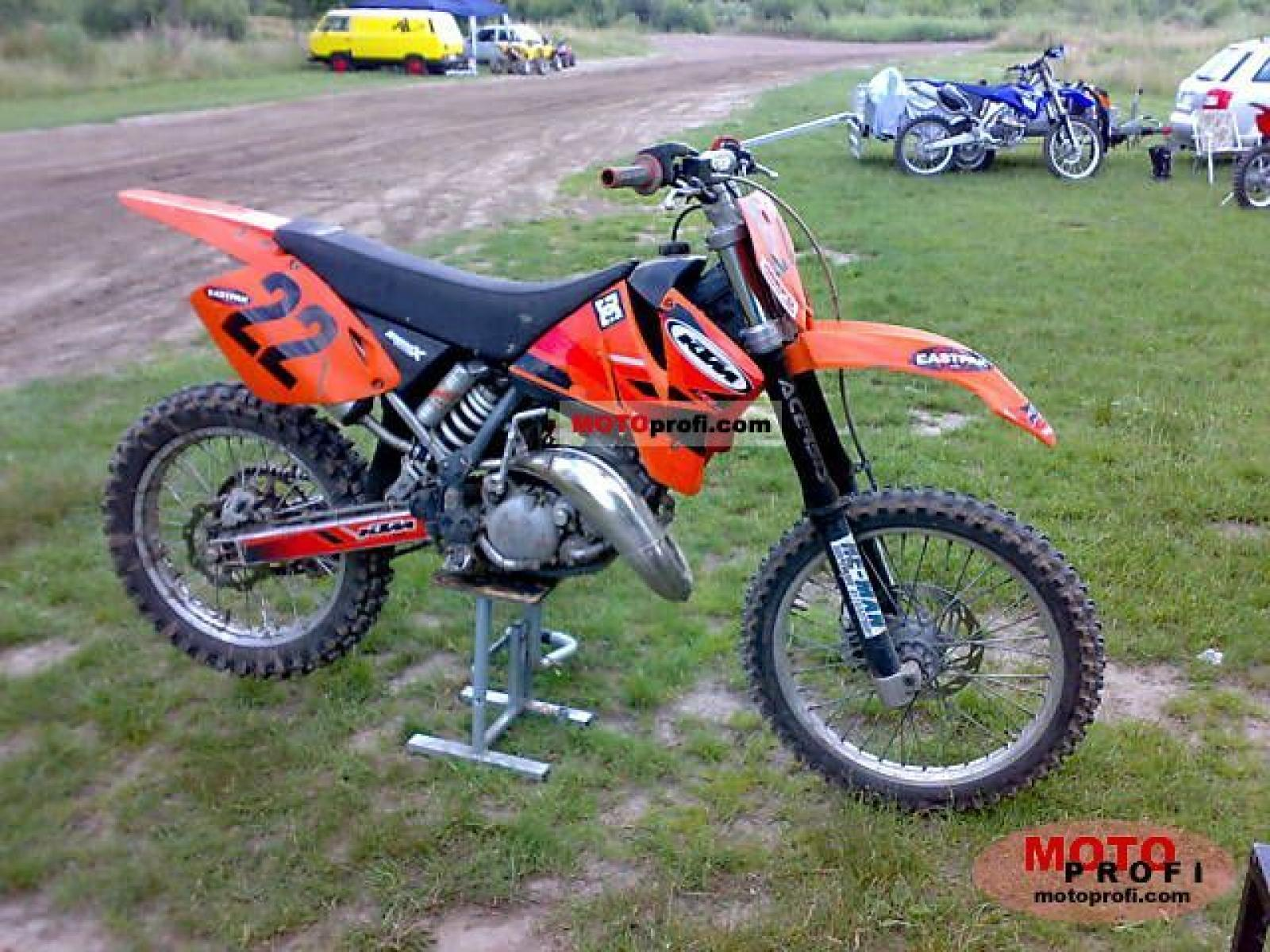ktm ktm enduro 125 vc moto zombdrive com. Black Bedroom Furniture Sets. Home Design Ideas