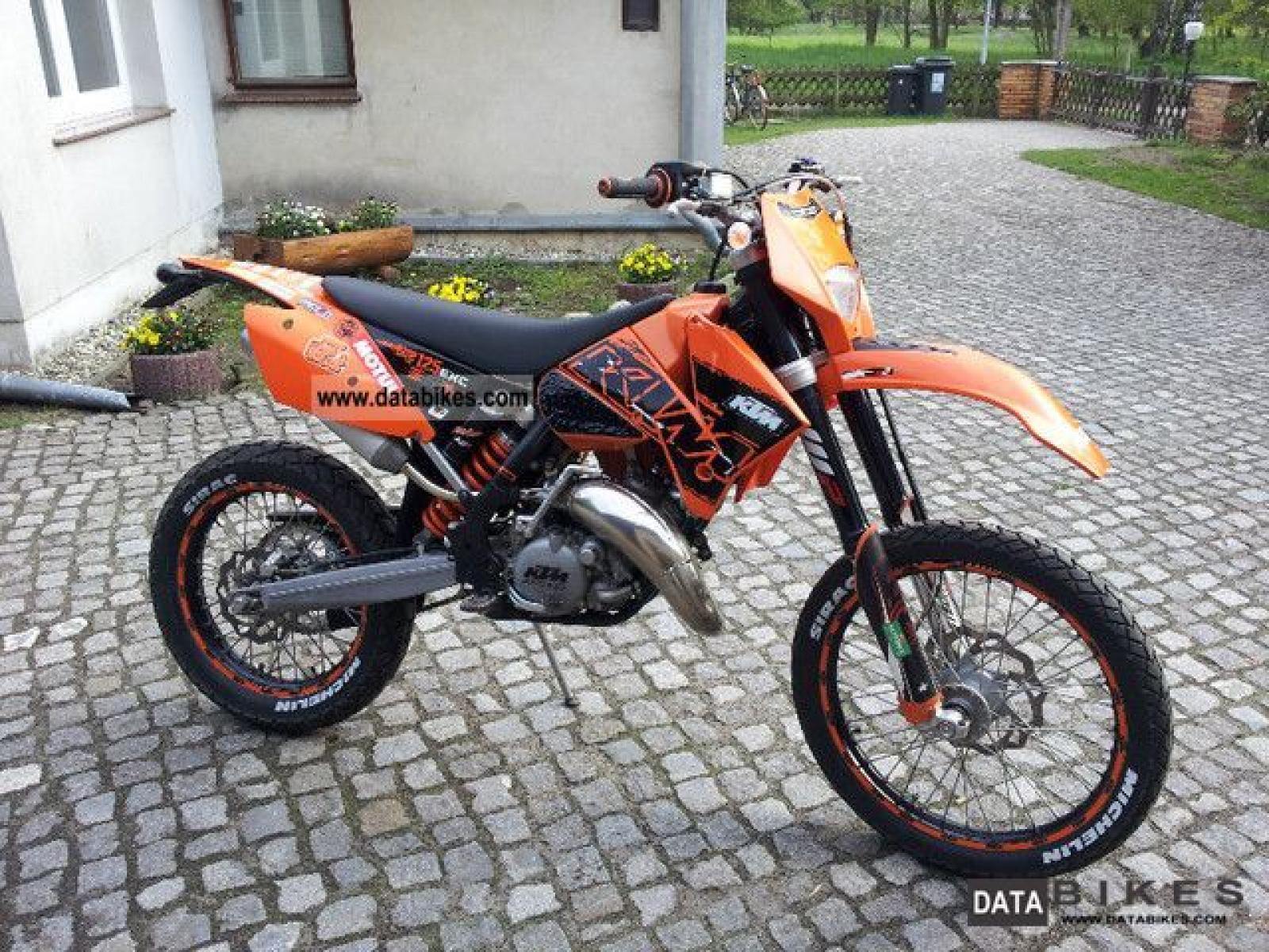 2000 ktm exc 125 moto zombdrive com. Black Bedroom Furniture Sets. Home Design Ideas
