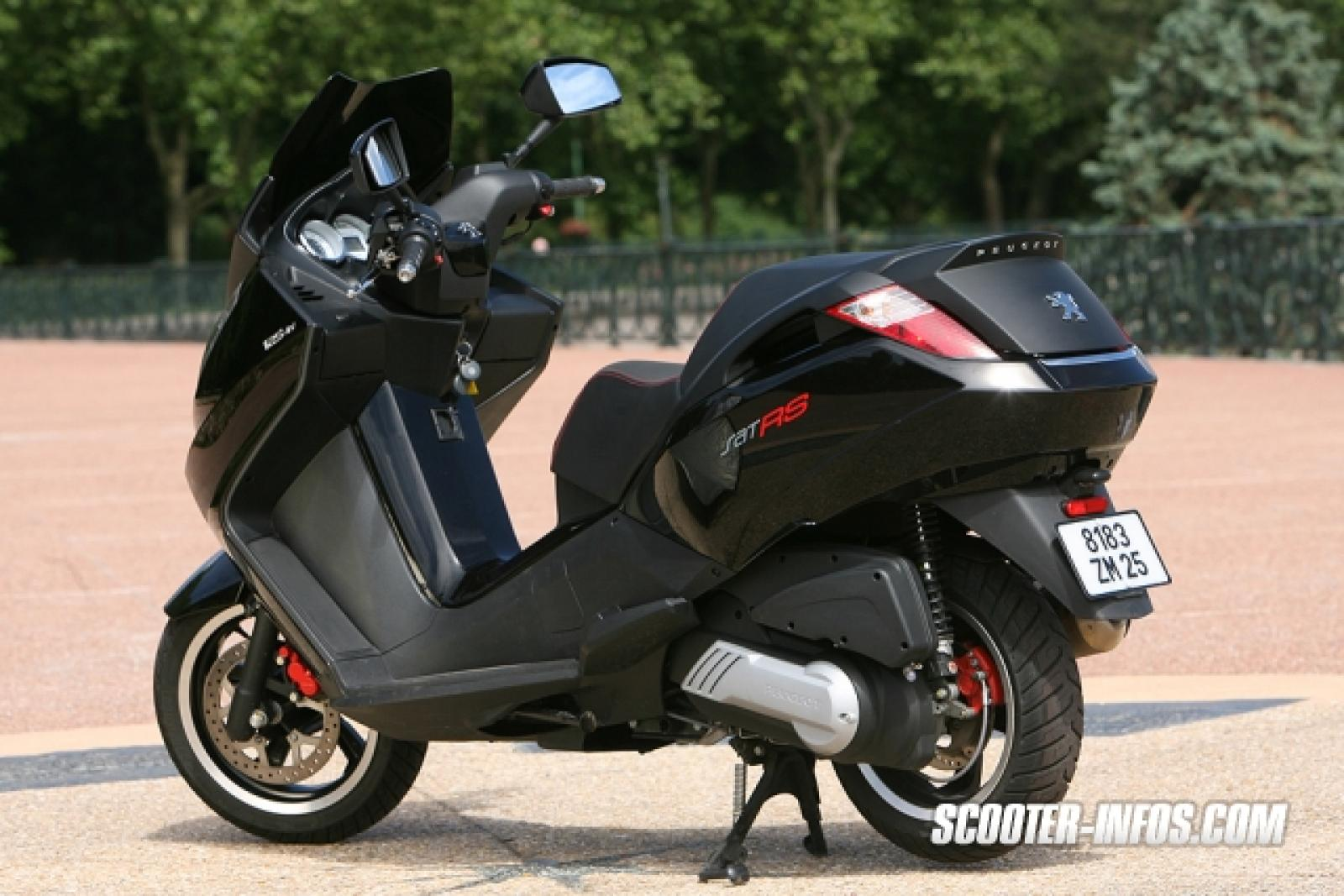 2008 peugeot satelis 125 rs moto zombdrive com. Black Bedroom Furniture Sets. Home Design Ideas