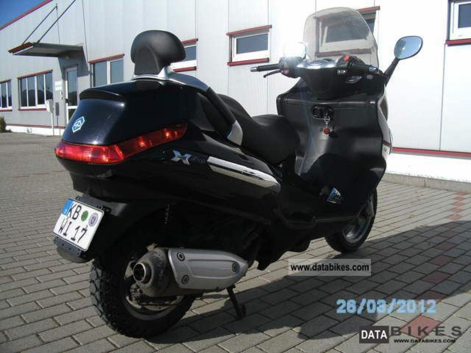 2008 piaggio xevo 125 moto zombdrive com. Black Bedroom Furniture Sets. Home Design Ideas
