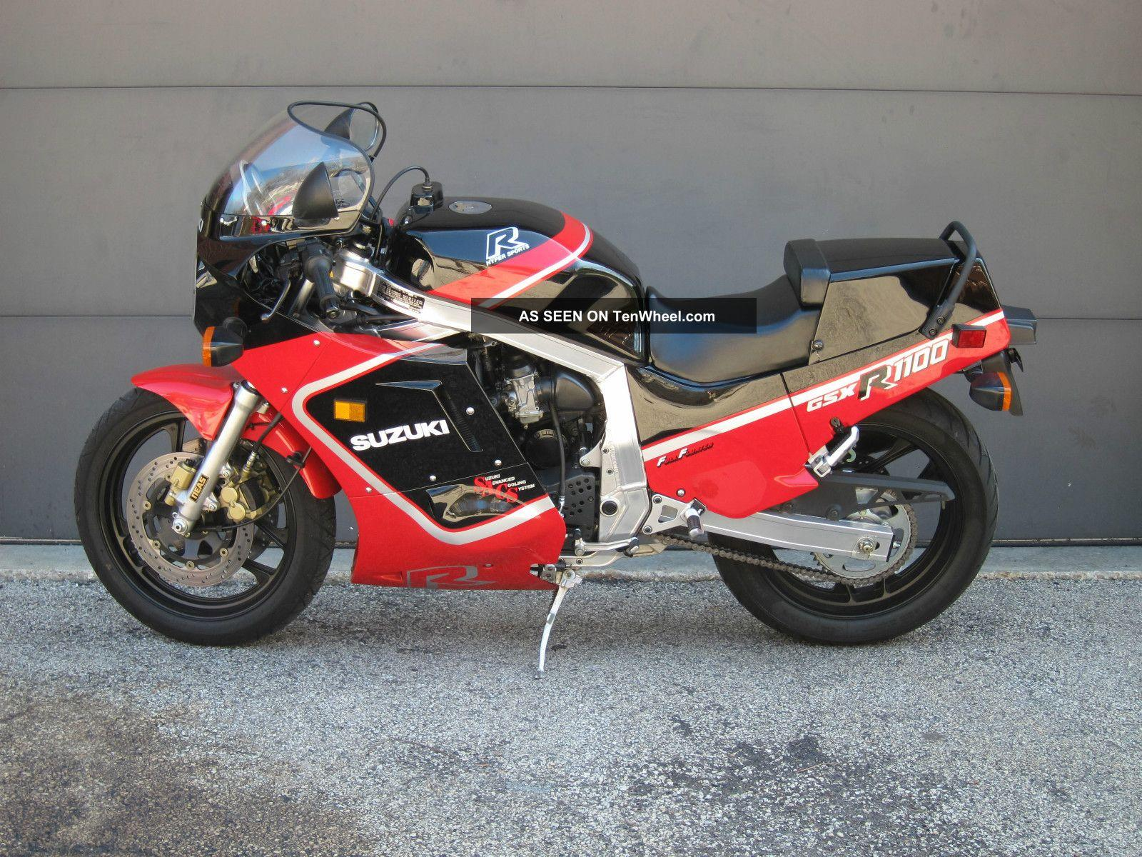 Suzuki Gsxr Black And Red