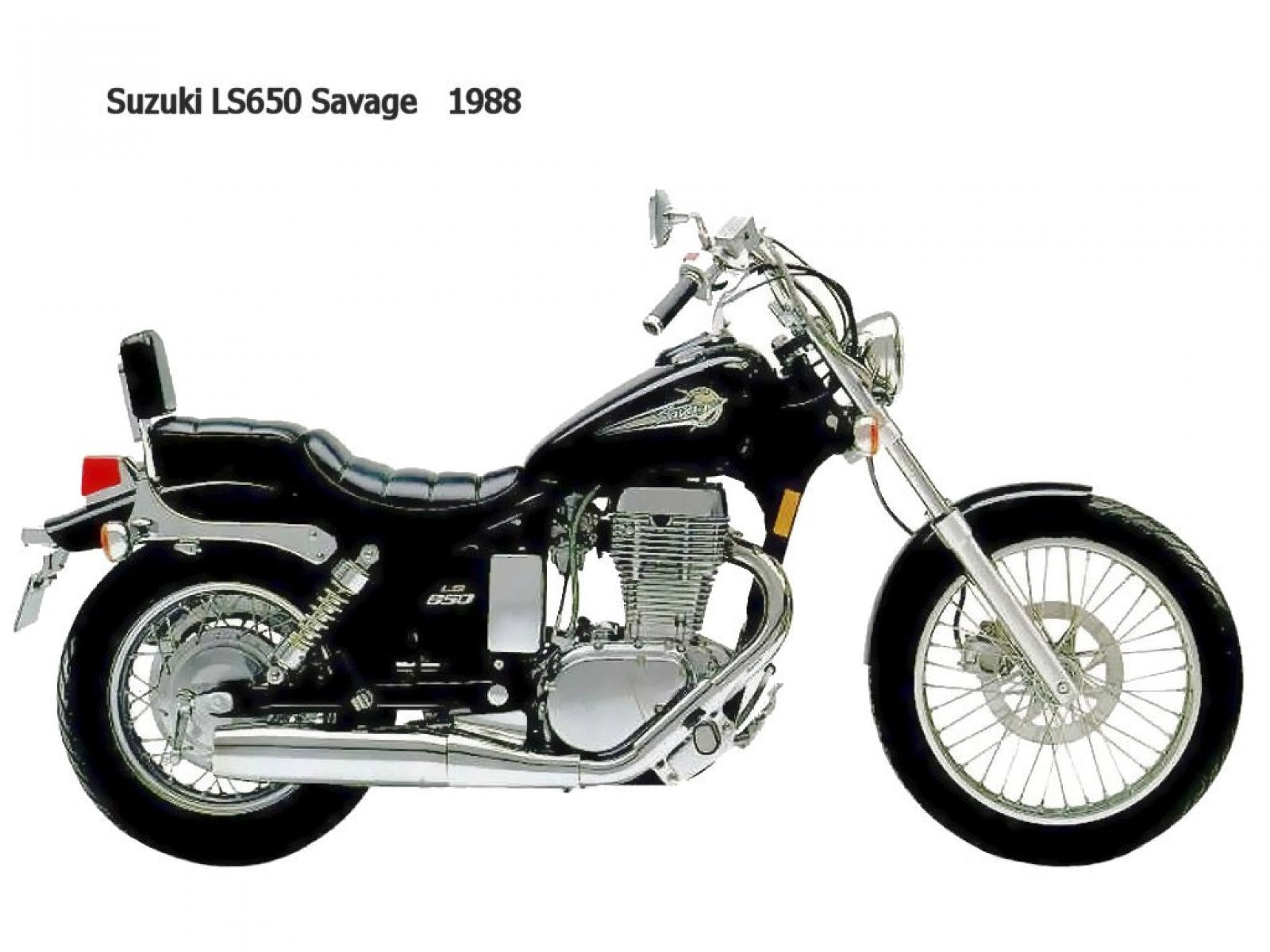 1989 suzuki ls 650 savage moto zombdrive com. Black Bedroom Furniture Sets. Home Design Ideas