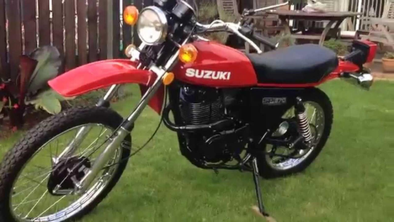 1980 suzuki sr 370 moto zombdrive com. Black Bedroom Furniture Sets. Home Design Ideas