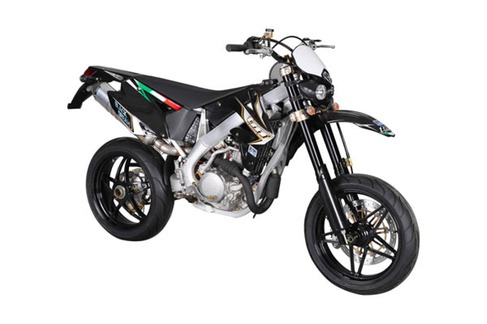 2008 TM racing SMM 125 Black Dream - Moto.ZombDrive.COM