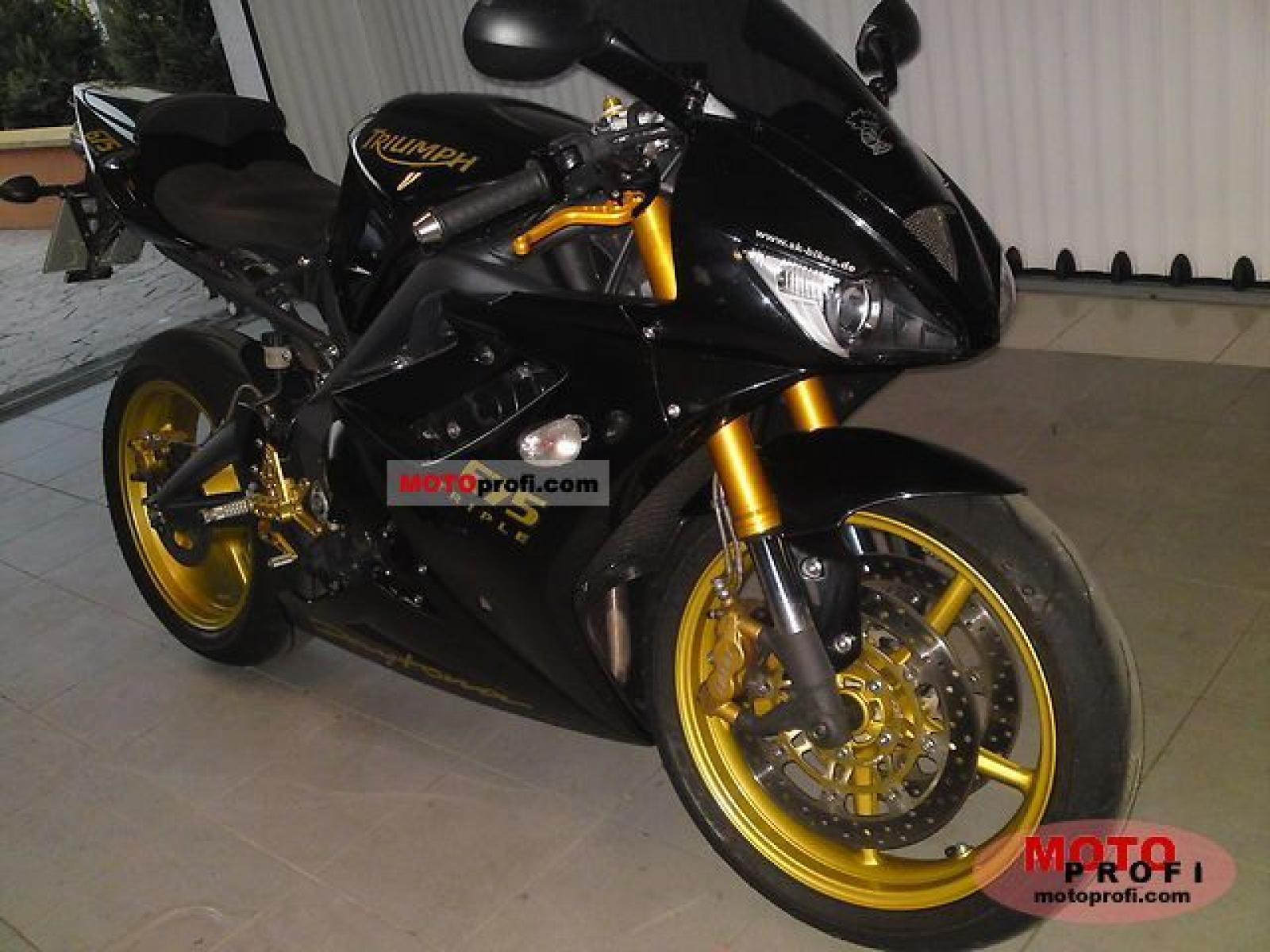 2008 triumph daytona 675 se moto zombdrive com. Black Bedroom Furniture Sets. Home Design Ideas