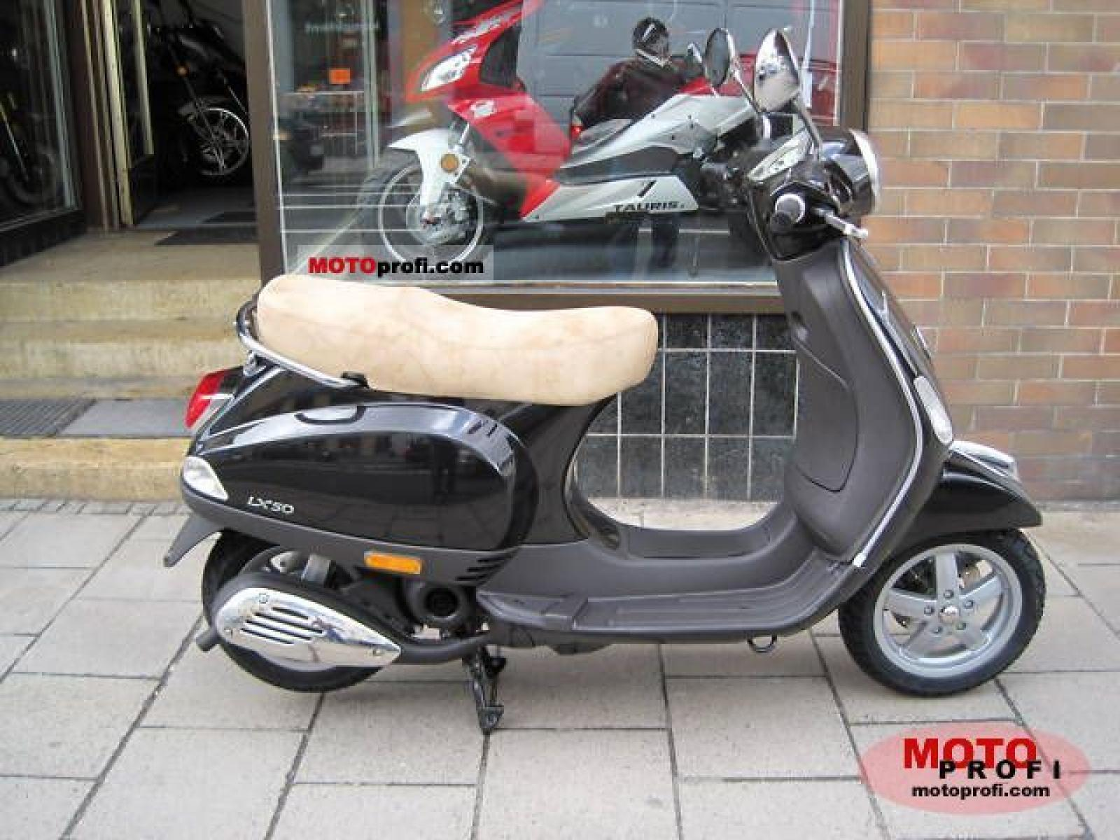 2009 vespa lx 50 2t moto zombdrive com. Black Bedroom Furniture Sets. Home Design Ideas