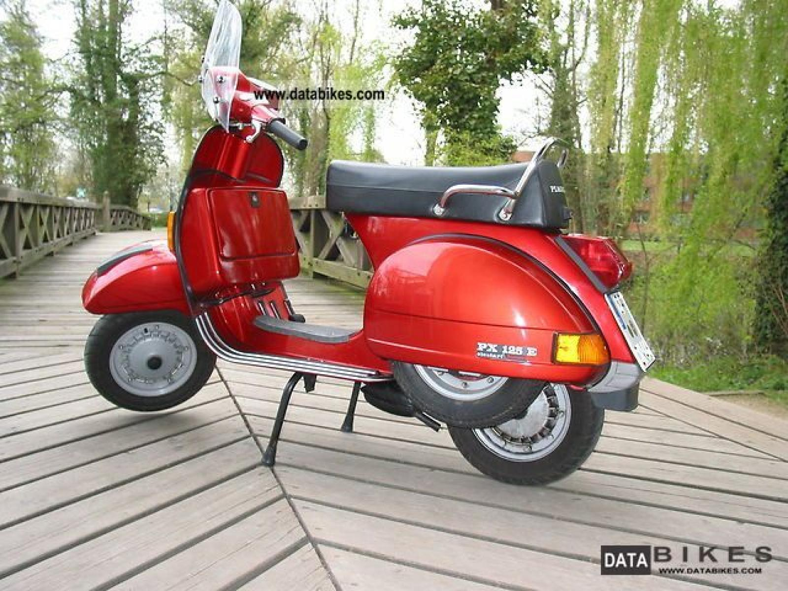 1998 vespa px 125 moto zombdrive com. Black Bedroom Furniture Sets. Home Design Ideas