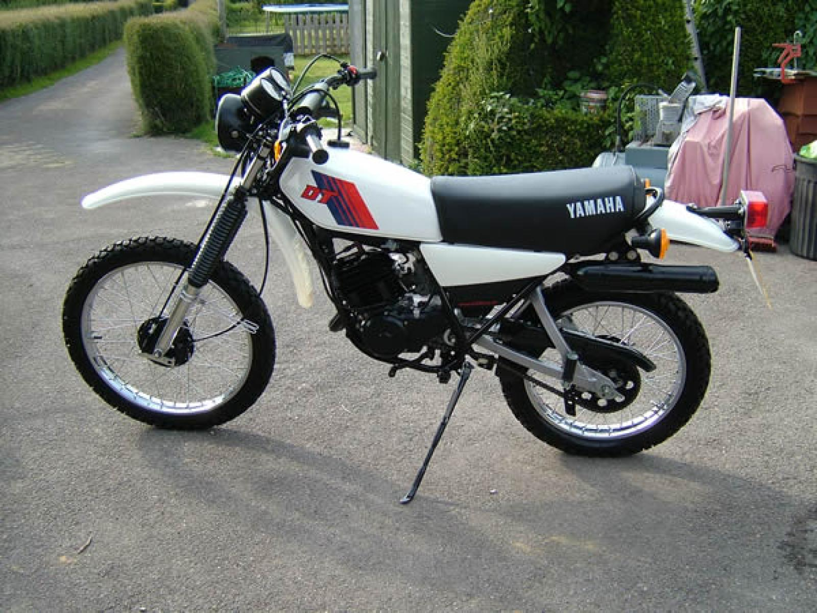 1981 yamaha dt 50 mx moto zombdrive com. Black Bedroom Furniture Sets. Home Design Ideas