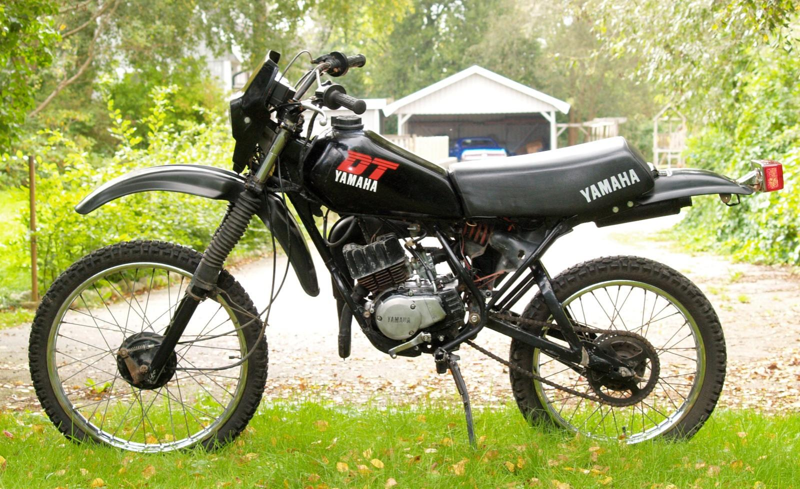 1983 yamaha dt 50 mx moto zombdrive com. Black Bedroom Furniture Sets. Home Design Ideas