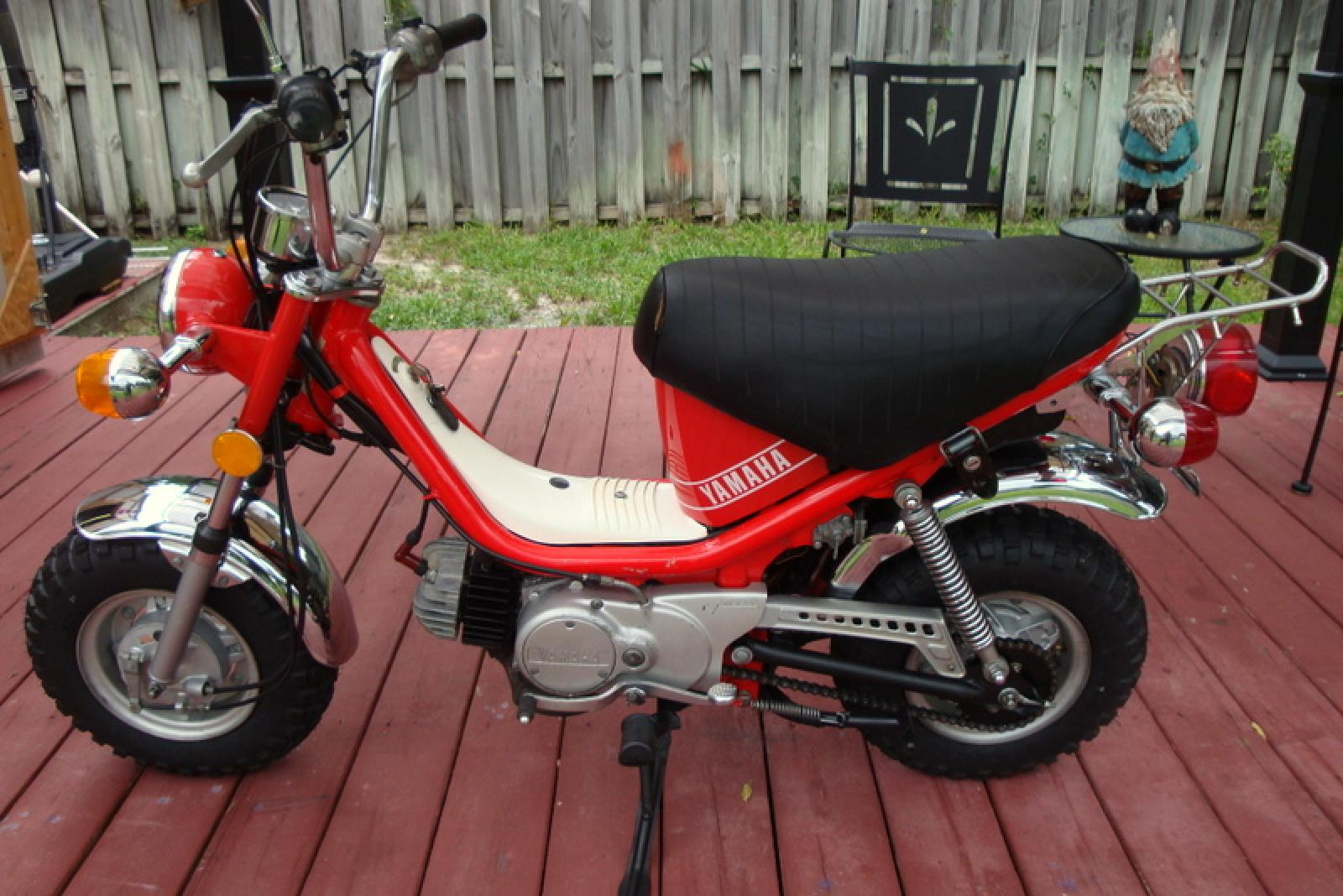 Yamaha chappy motorcycle picture 5