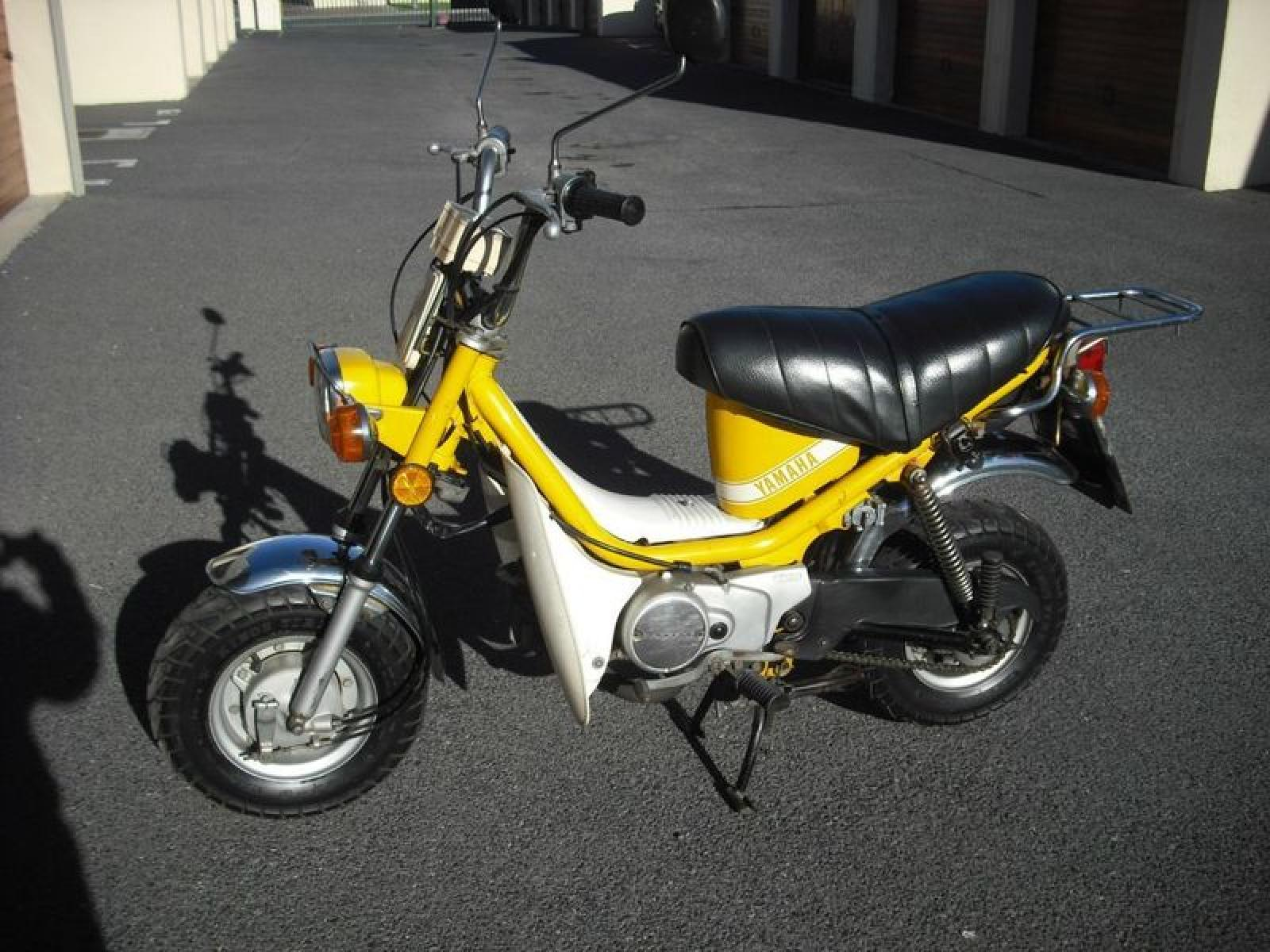 Yamaha chappy motorcycle picture 7