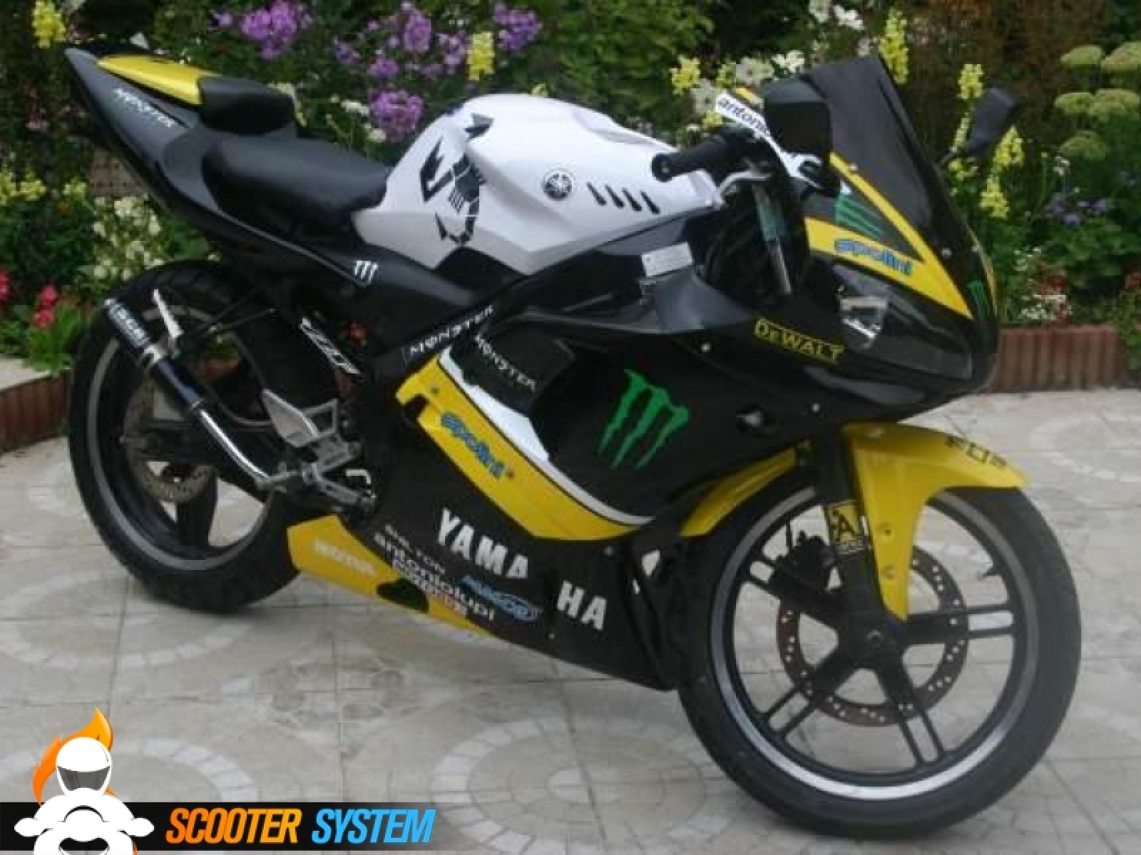 yamaha yamaha tzr 50 race replica moto zombdrive com. Black Bedroom Furniture Sets. Home Design Ideas