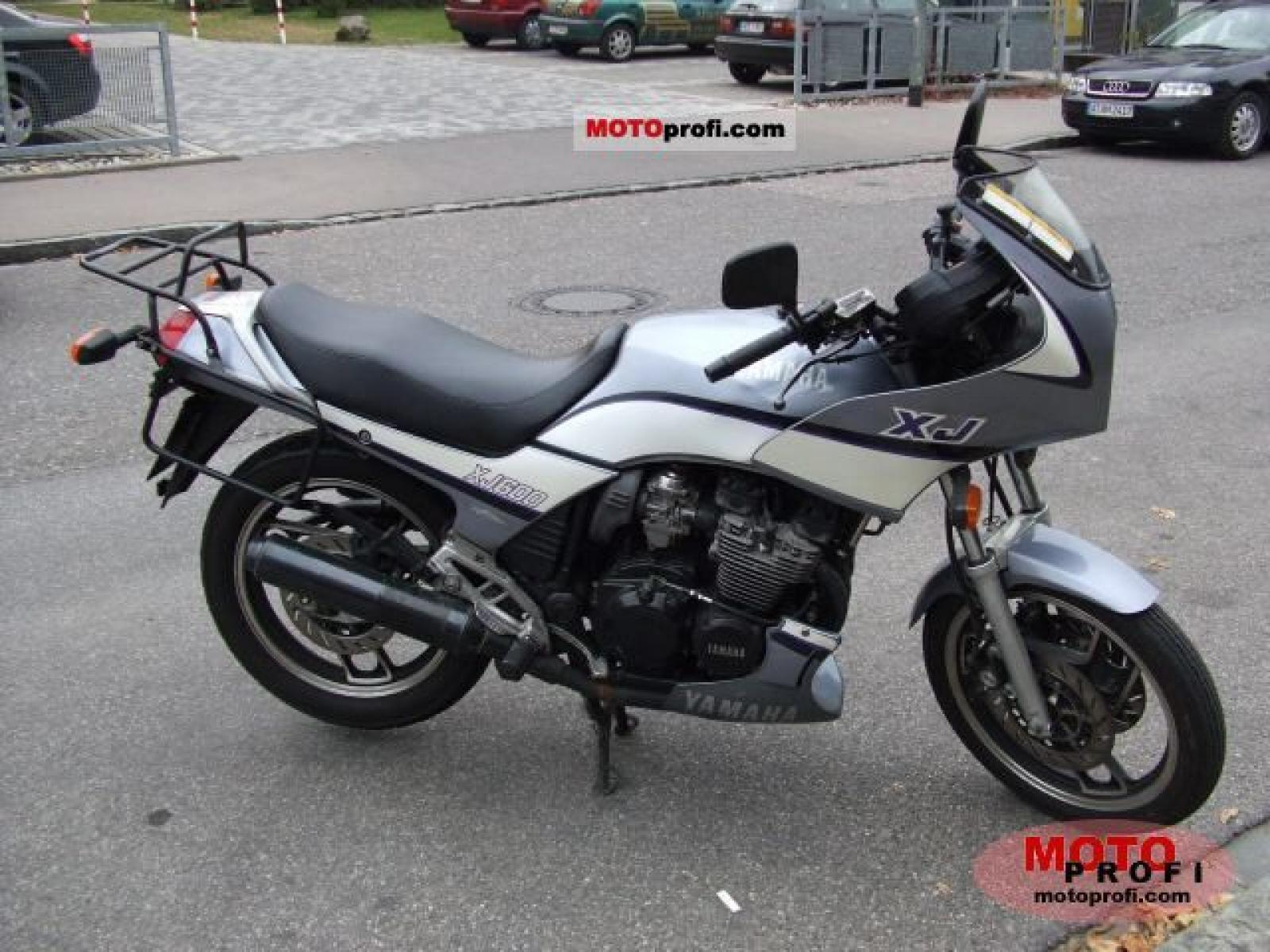 1988 yamaha xj 600 moto zombdrive com. Black Bedroom Furniture Sets. Home Design Ideas