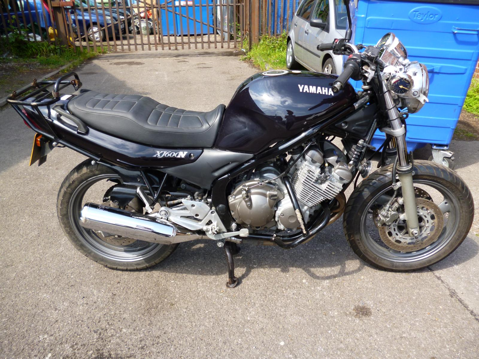 2001 Yamaha XJ 600 S Diversion specifications and pictures