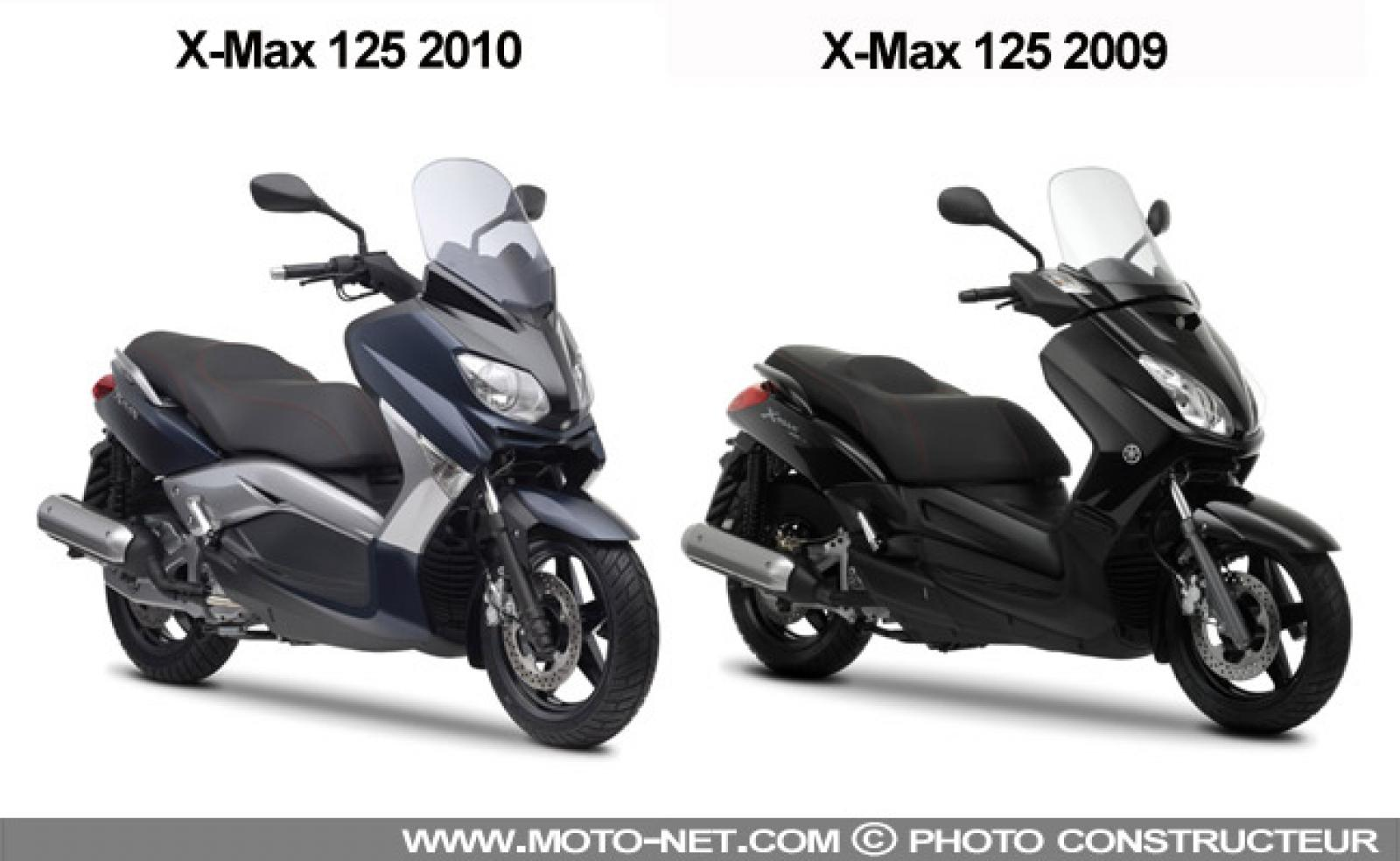 2010 yamaha x max 125 moto zombdrive com. Black Bedroom Furniture Sets. Home Design Ideas