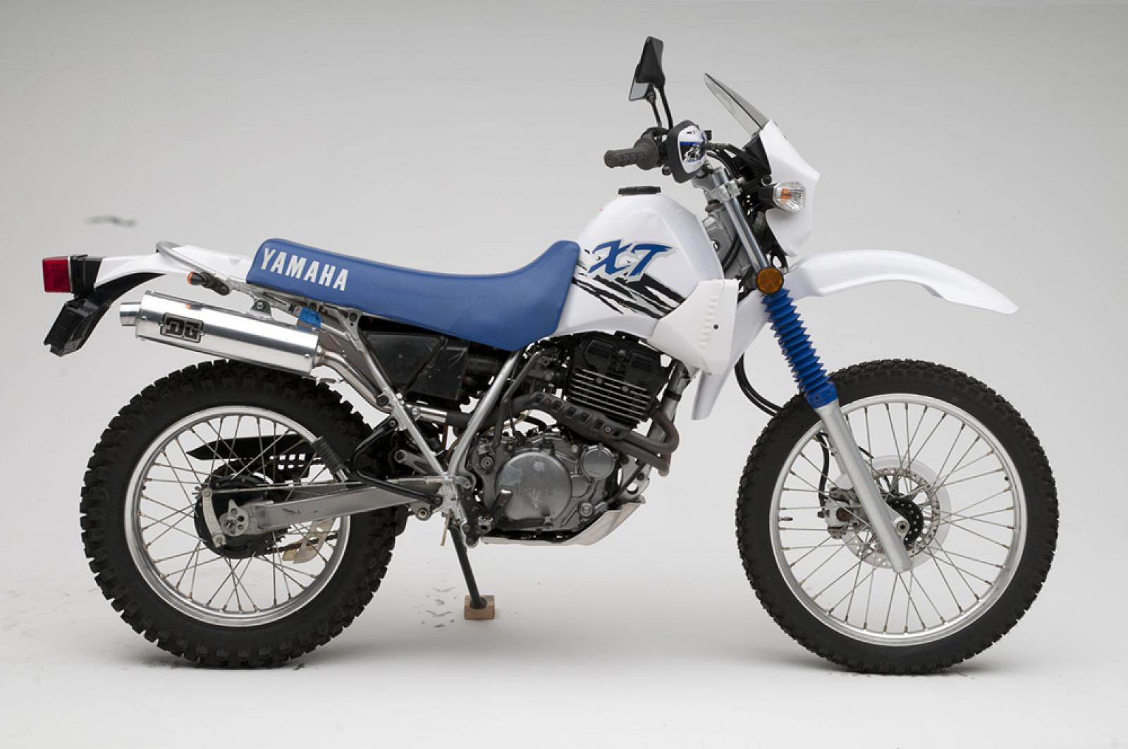 Yamaha Xt on Yamaha Xt 500 Enduro