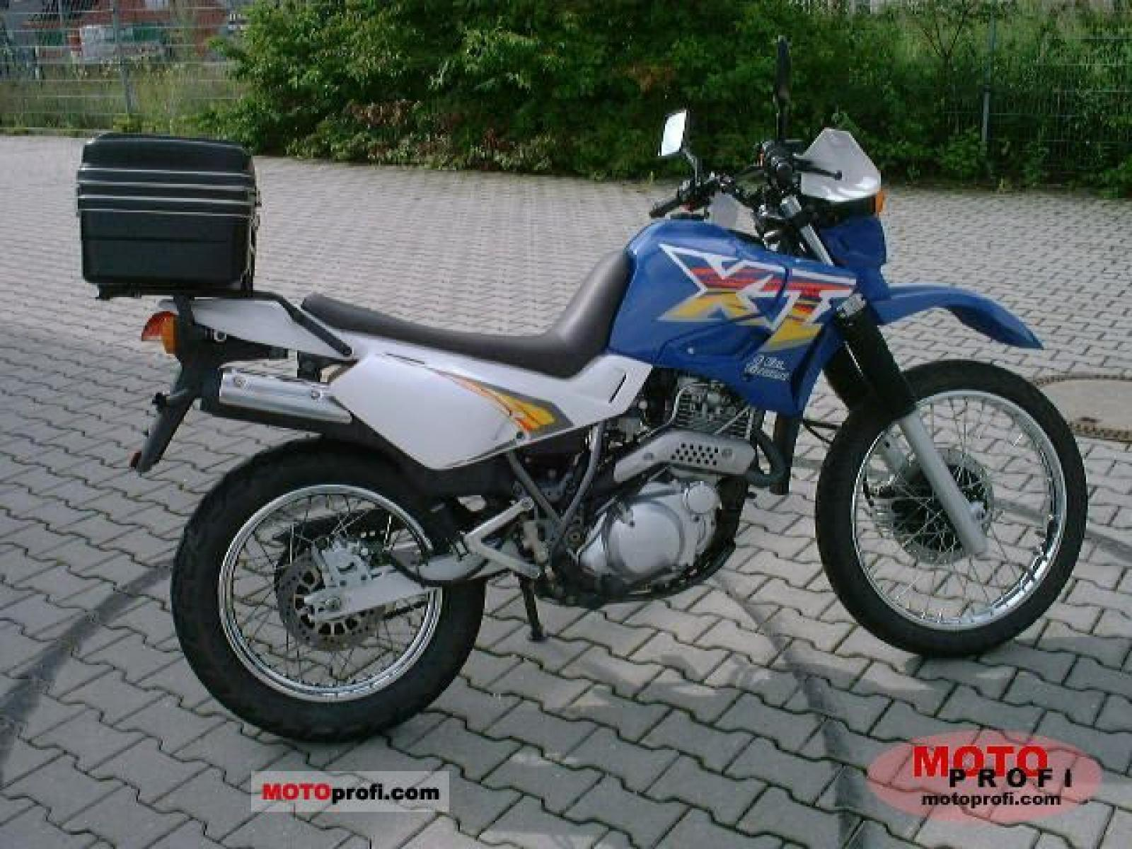 1997 yamaha xt 600 e moto zombdrive com. Black Bedroom Furniture Sets. Home Design Ideas